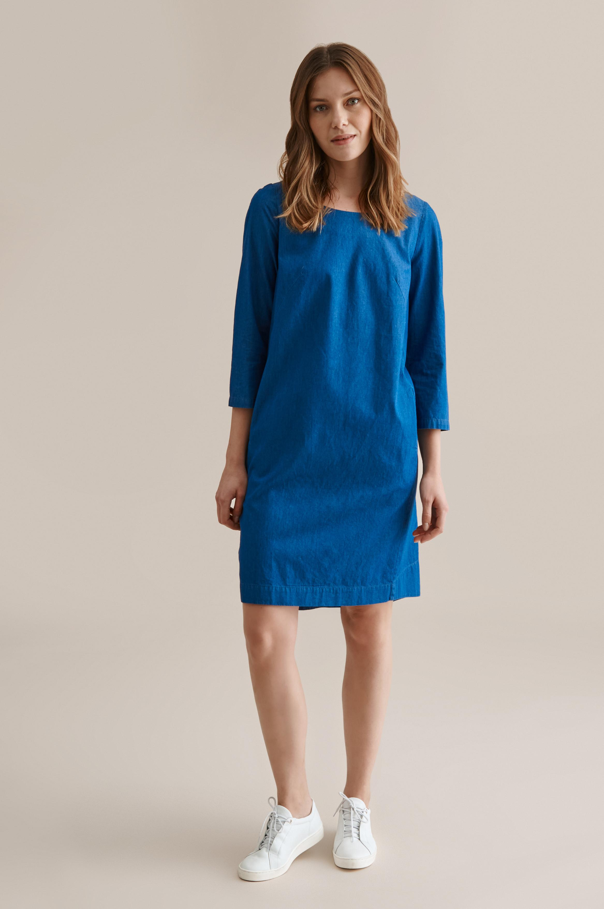 STRAIGHT DENIM DRESS TRENDI 1