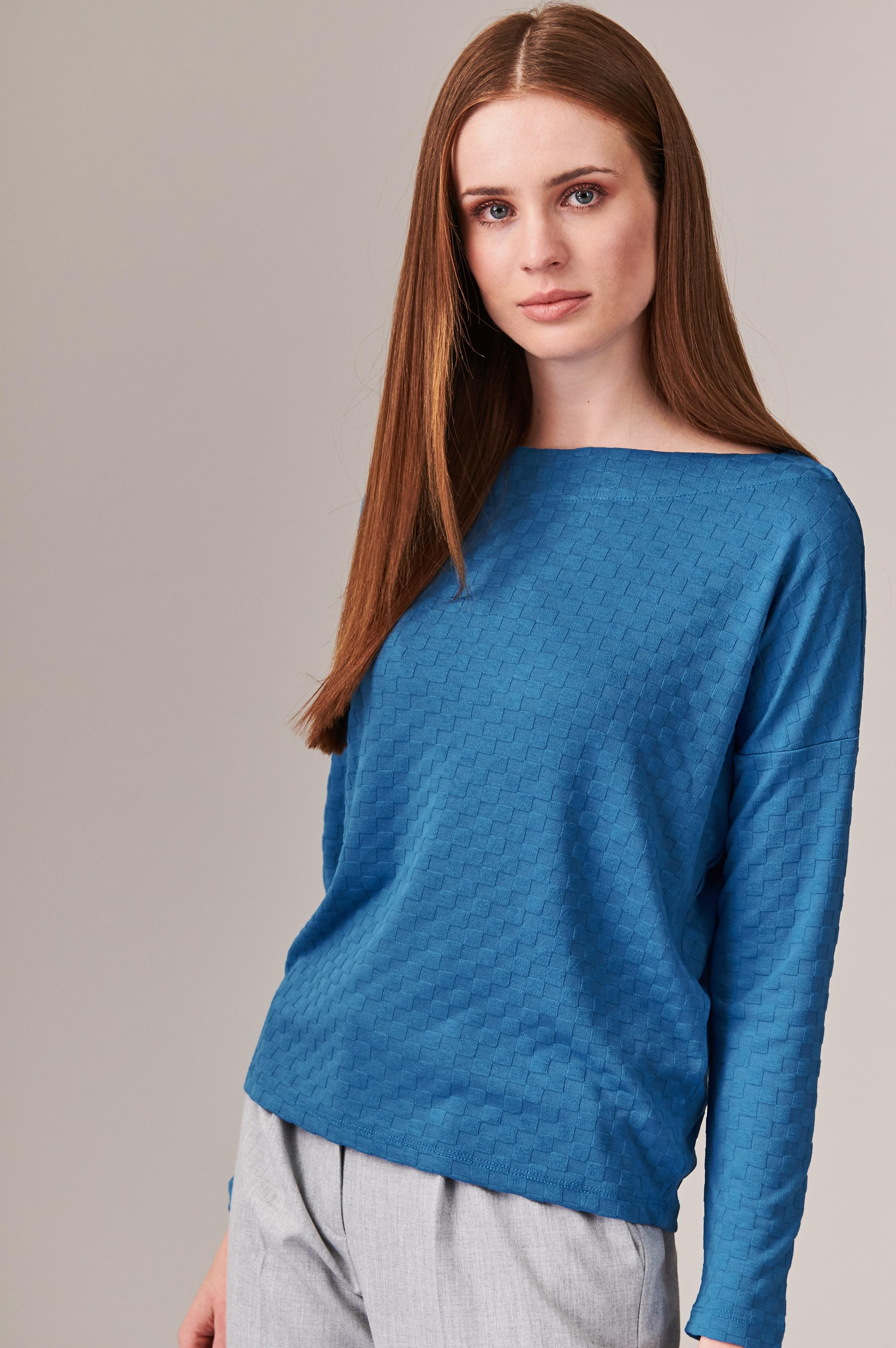 LADIES' 3D KNITTED BLOUSE AMERI 3