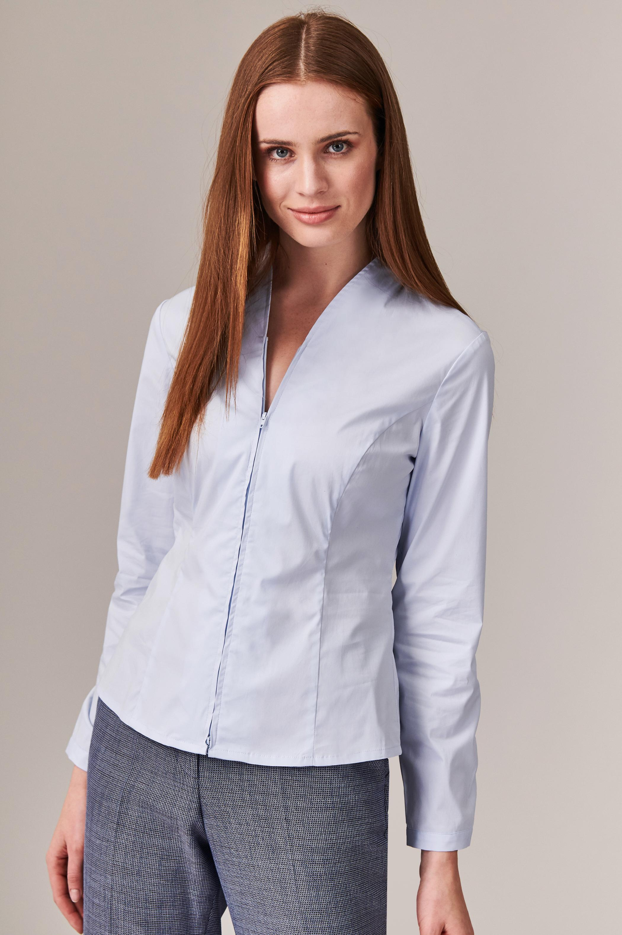 LADIES' ZIPPERED SHIRT LINAMI