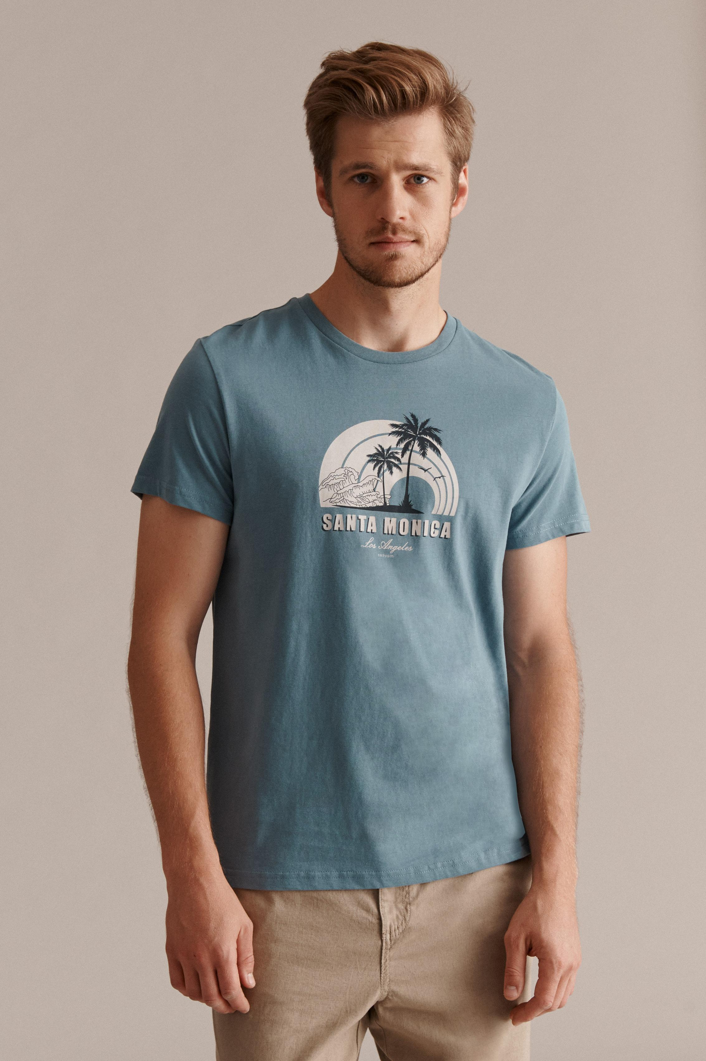 MEN'S T-SHIRT WITH HOLIDAYS THEME MIKIN 26