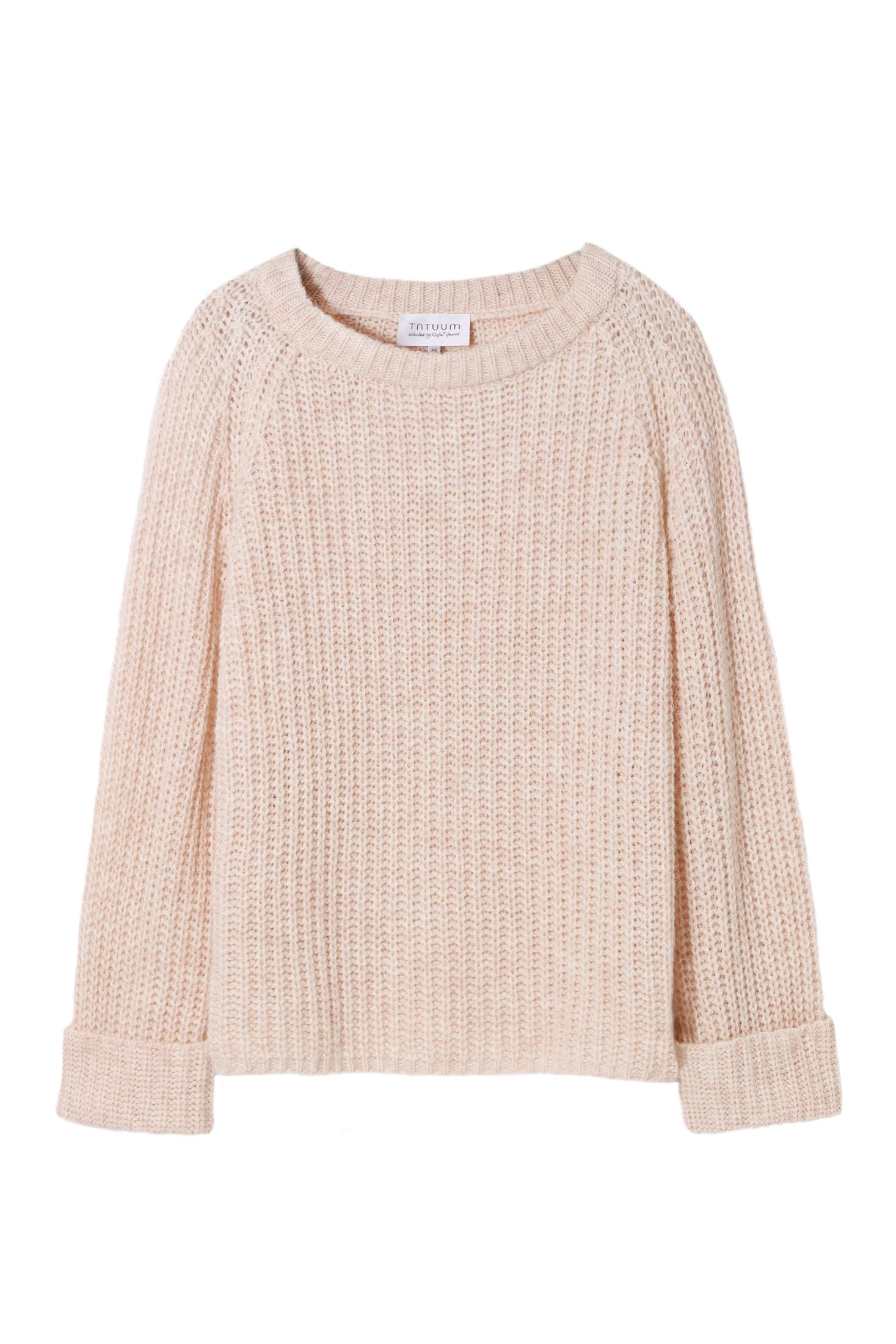 PASTEL COLOR SOFT SWEATER - SELECTED PERLA