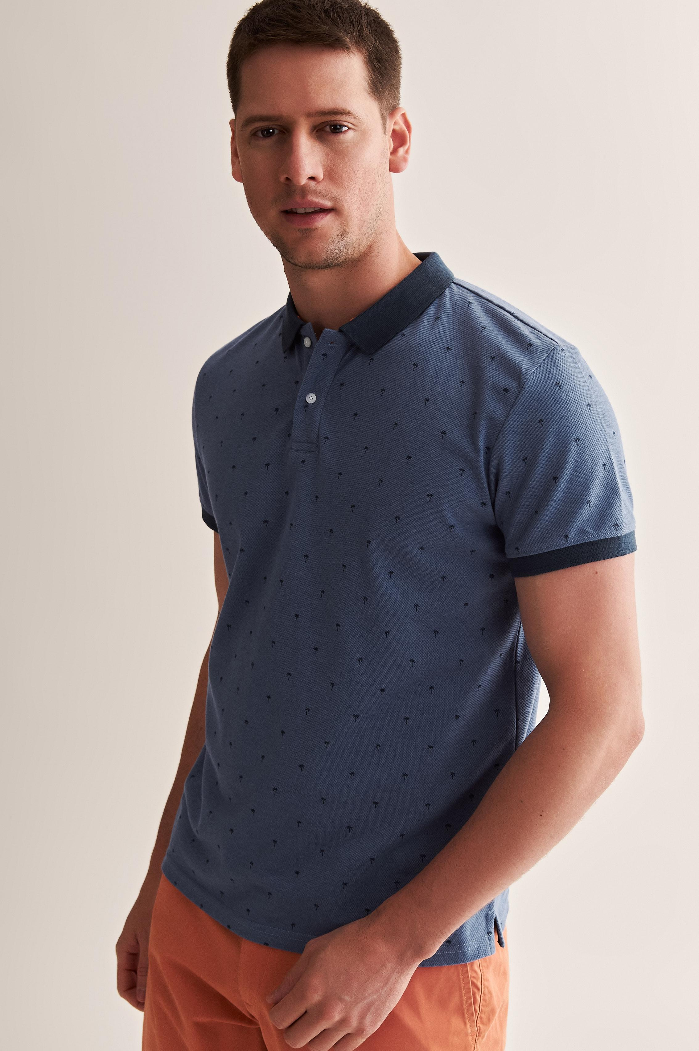 MEN'S KNITTED POLO SHIRT HINT 1