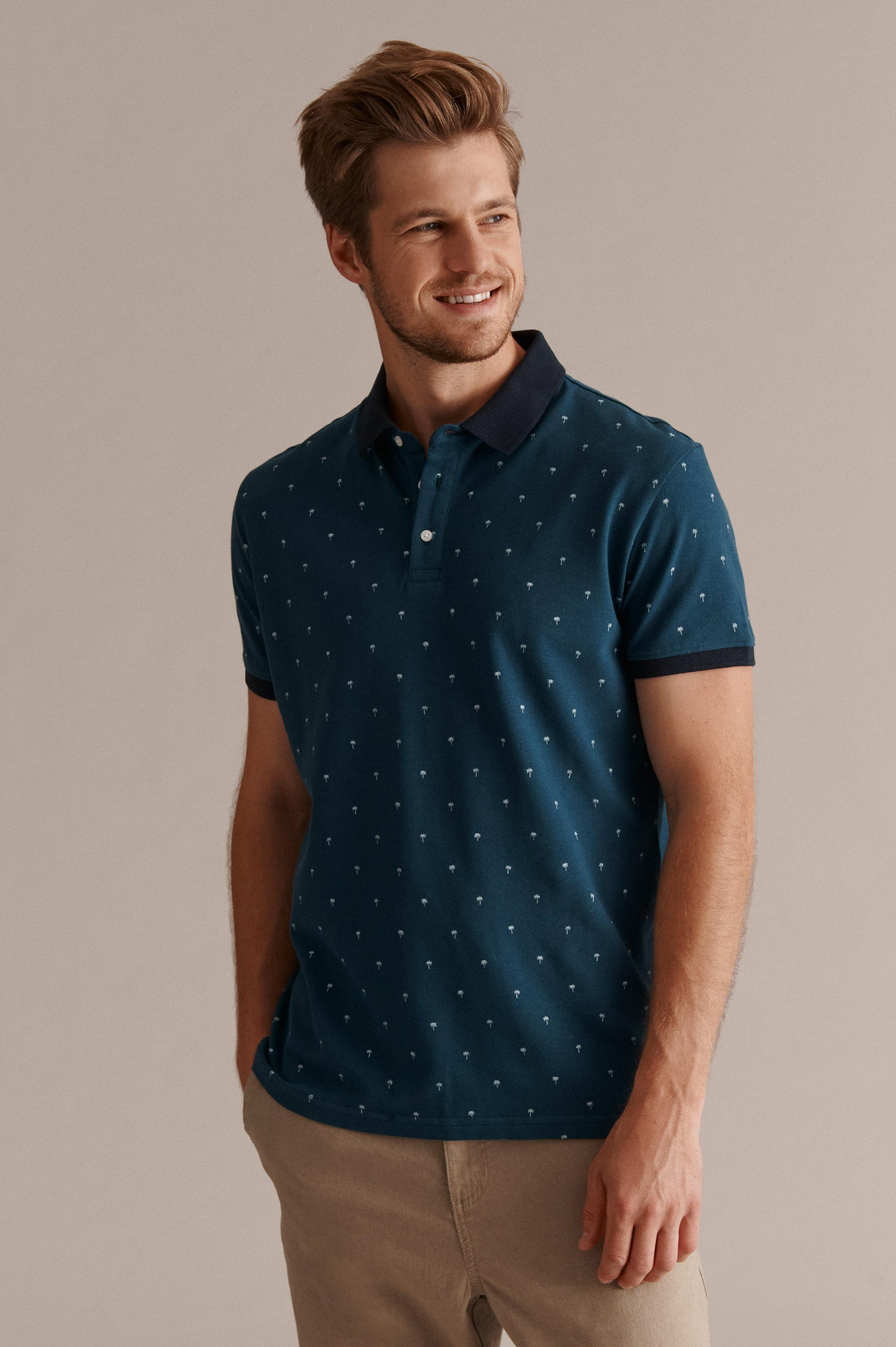 MEN'S KNITTED POLO SHIRT HINT 2