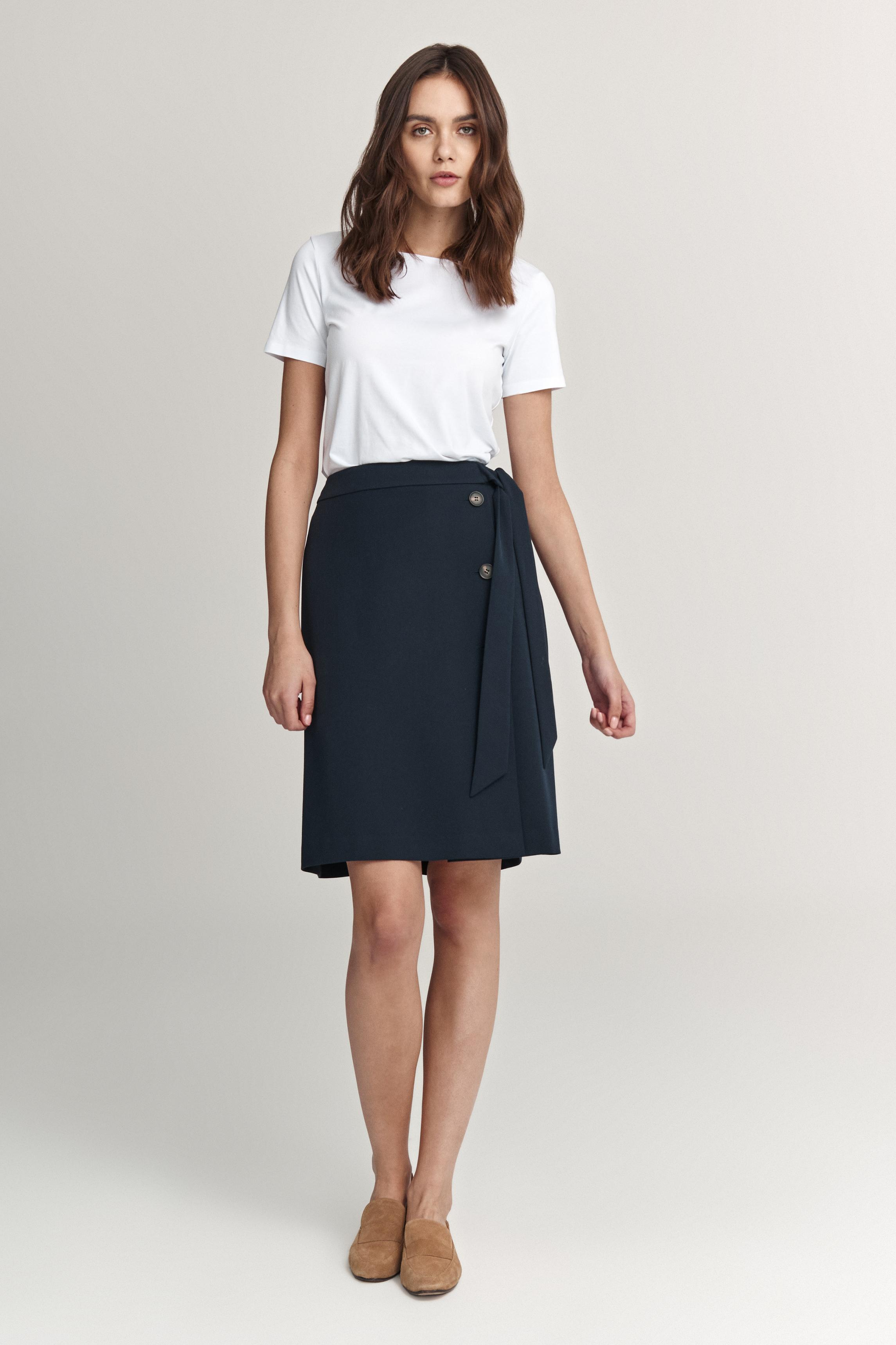 SKIRT WITH A FRILL ATOMIA