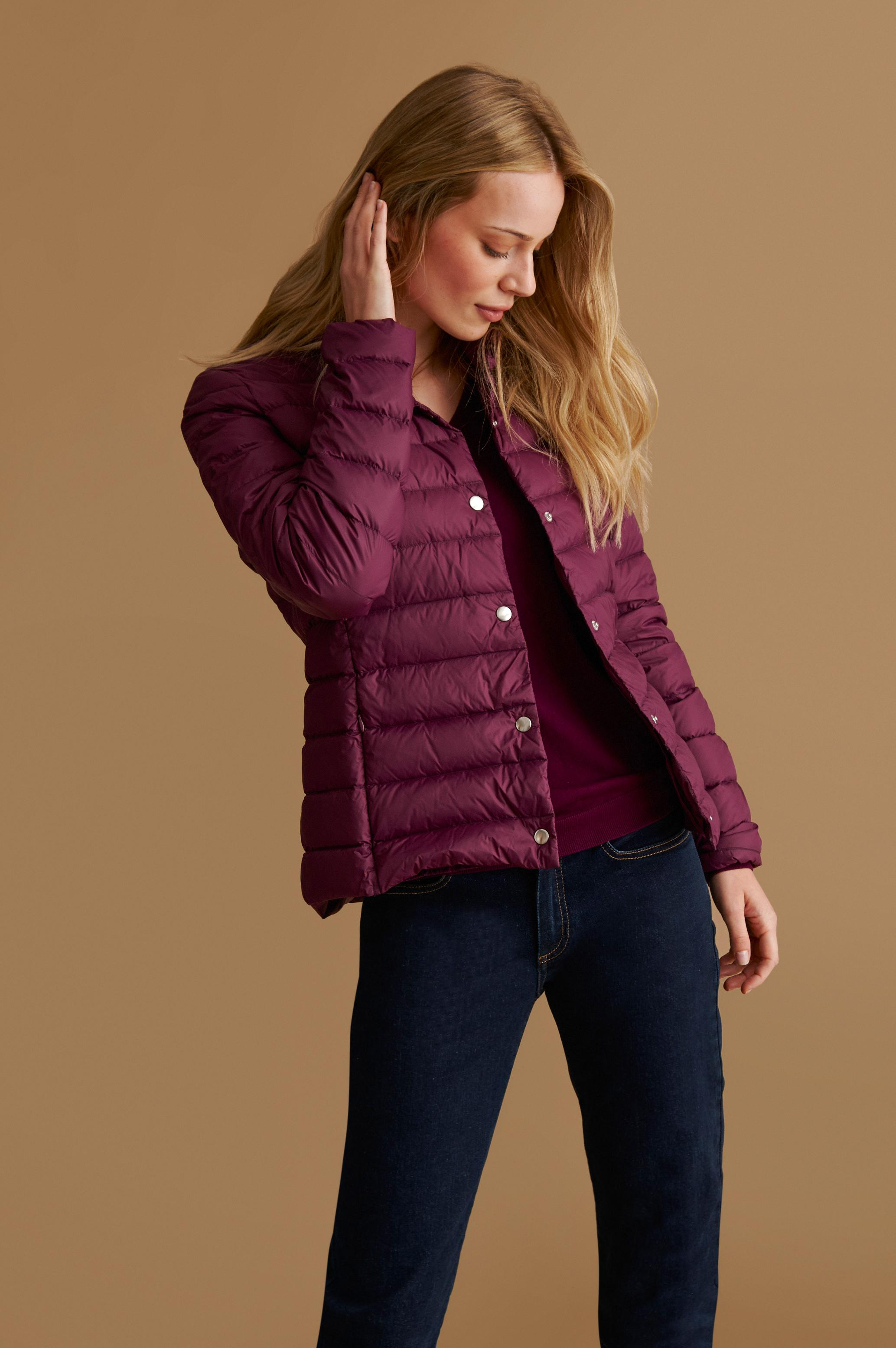 QUILTED LIGHT LADIES' OUTERWEAR JACKET SARNA