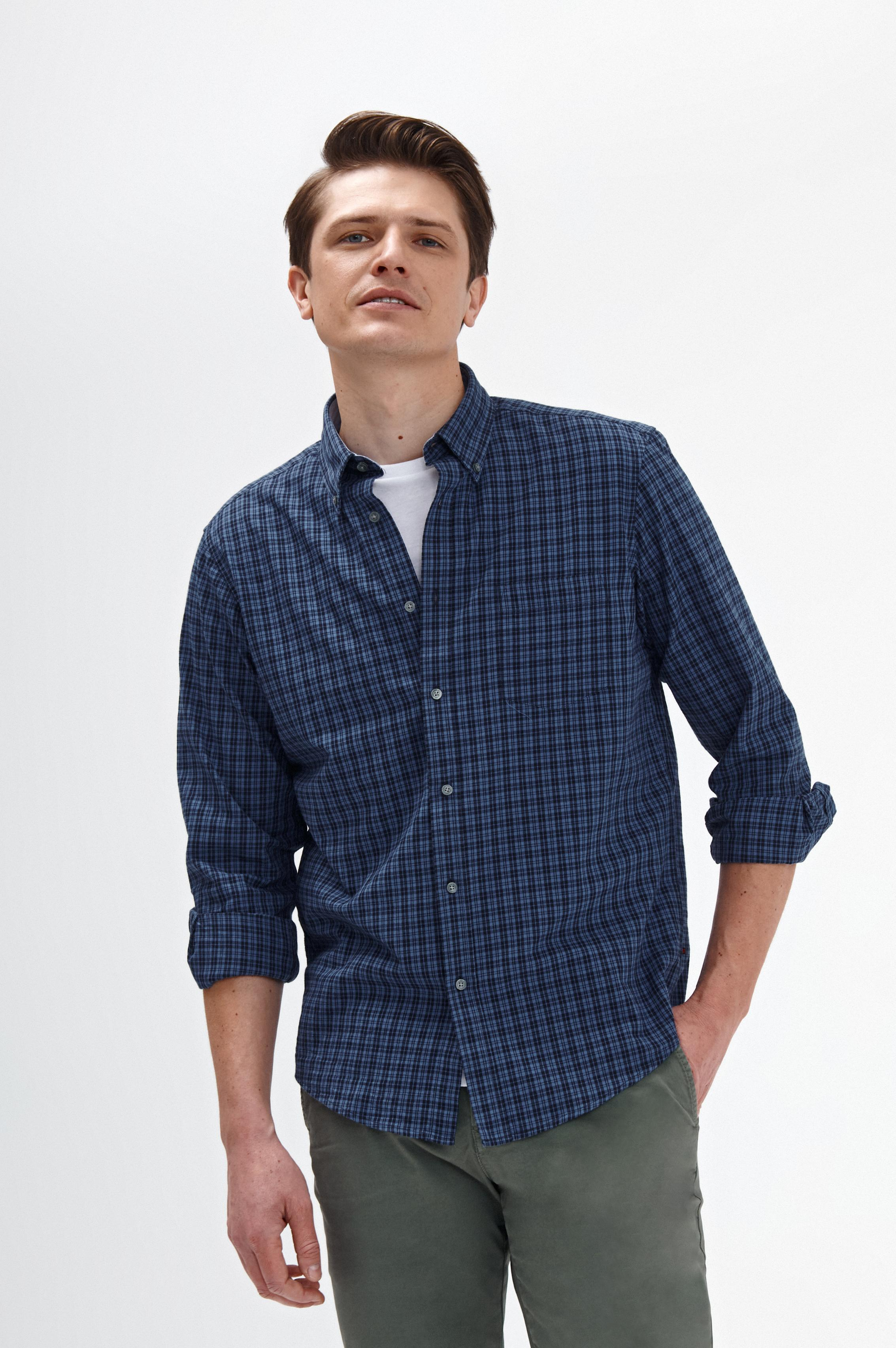 MEN'S CHECKERED SHIRT CHARLES 5 CLASSIC