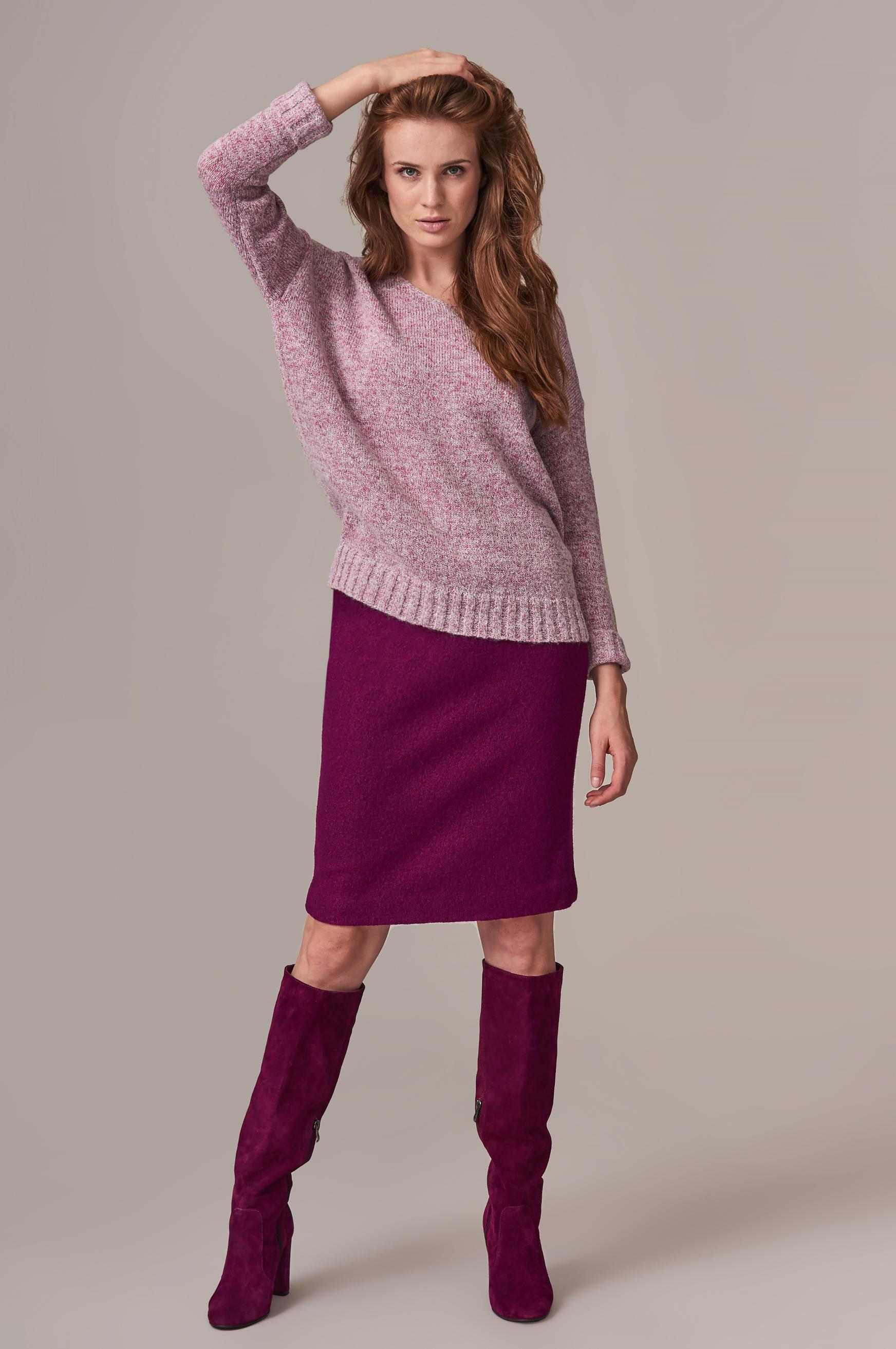 PENCIL KNITTED SKIRT BETANI