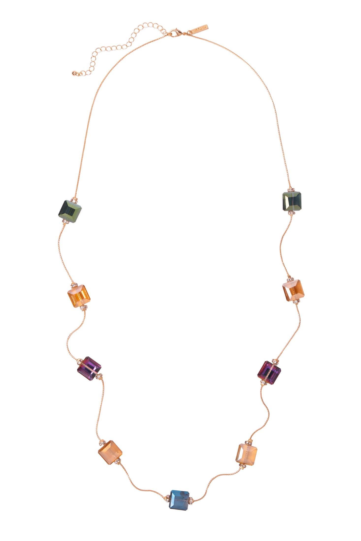 NECKLACE WITH GLASS DETAILS VIOLA