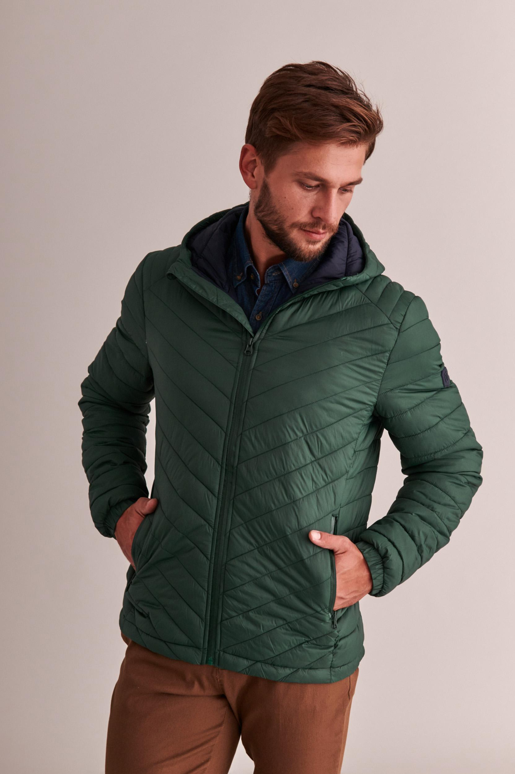 MEN'S OUTERWEAR QUILTED JACKET LEO