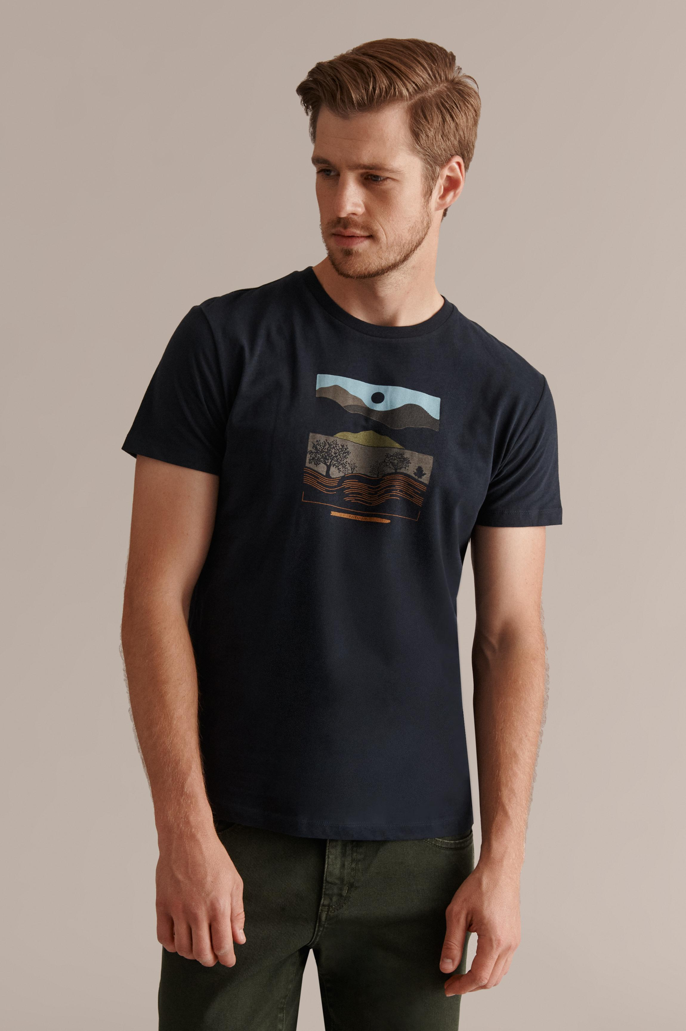 MEN'S T-SHIRT WITH A PRINT MIKIN 7