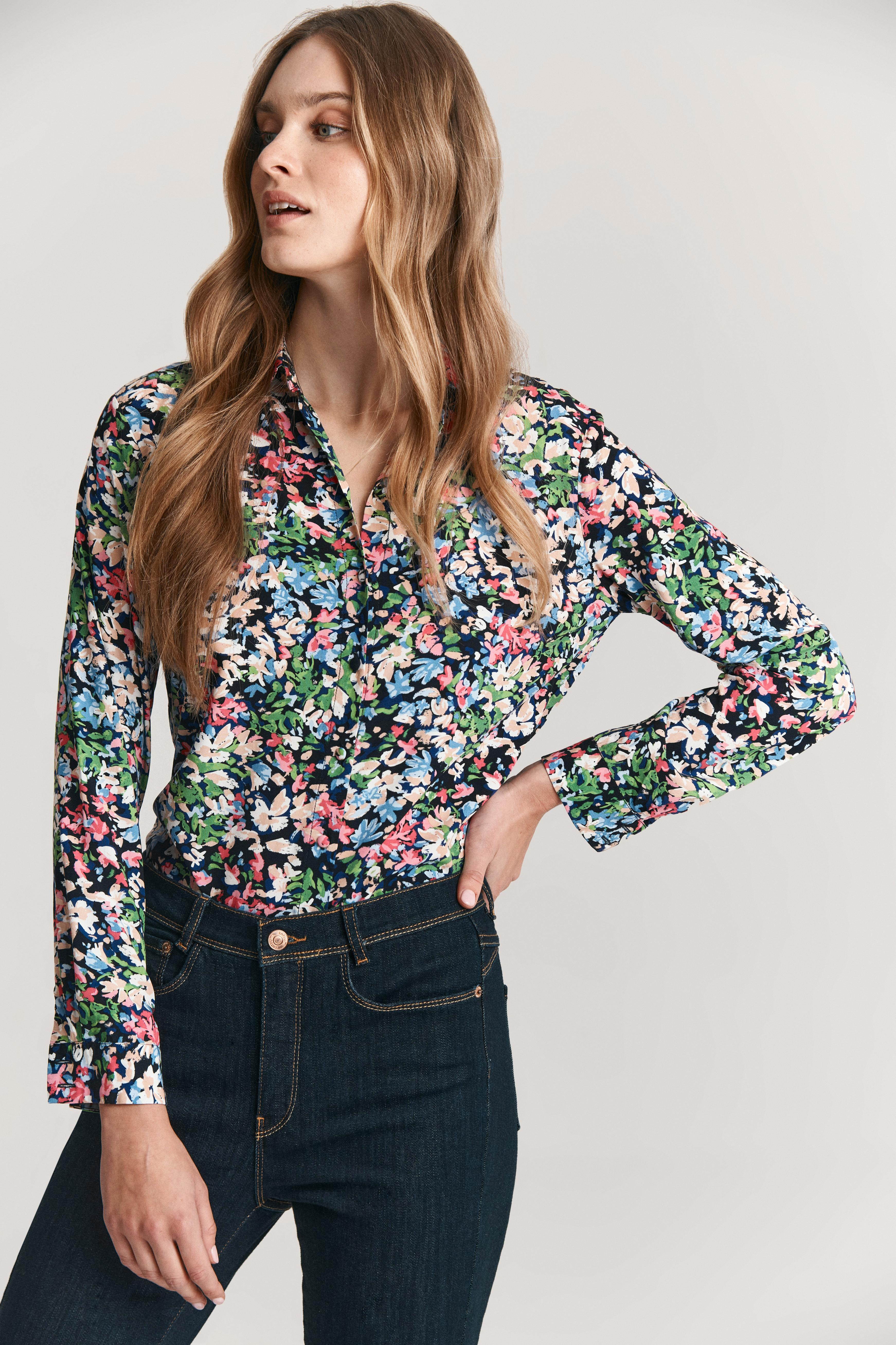 LADIES' FLORAL SHIRT GONIKA 1