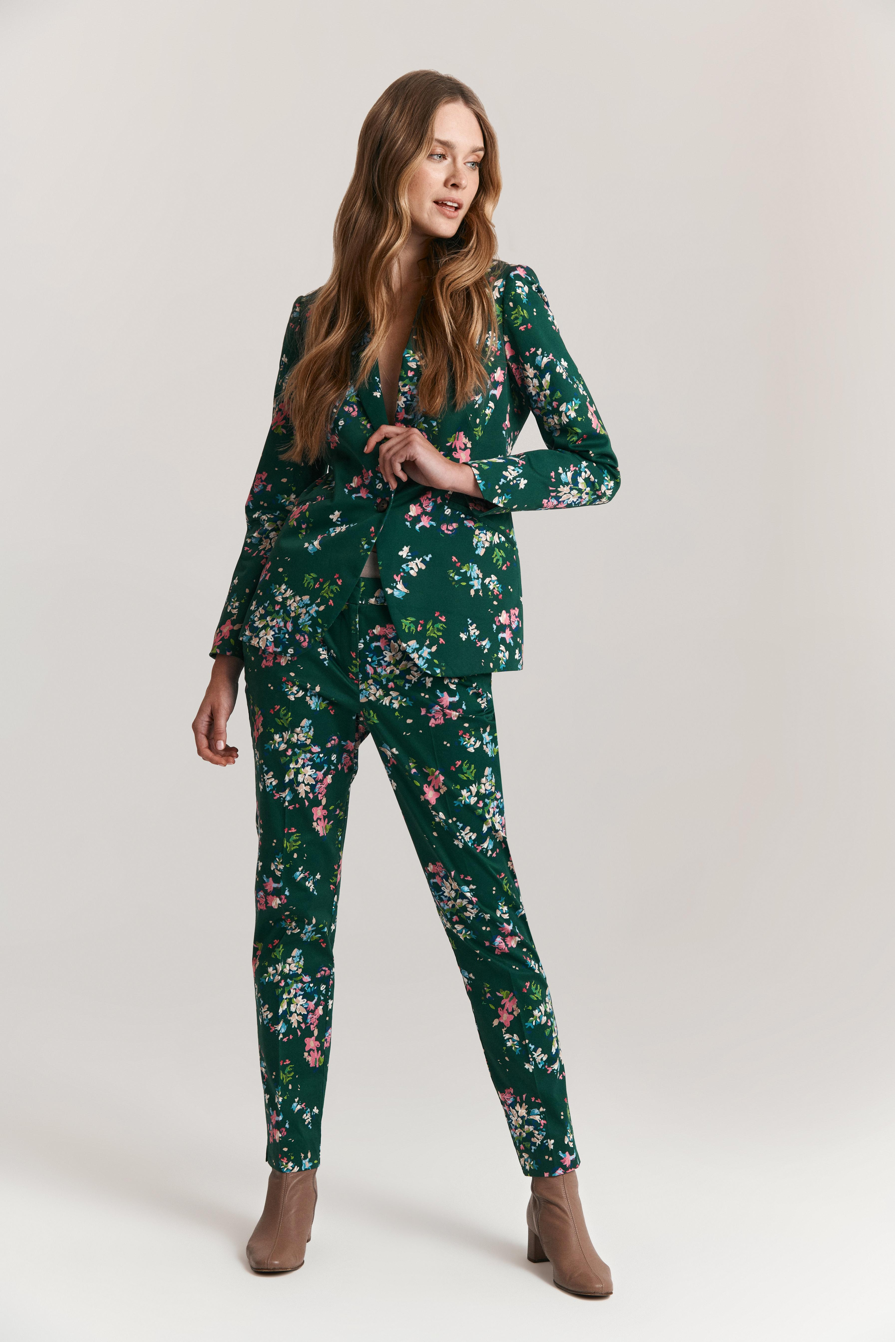 LADIES' FLORAL PANTS JULI