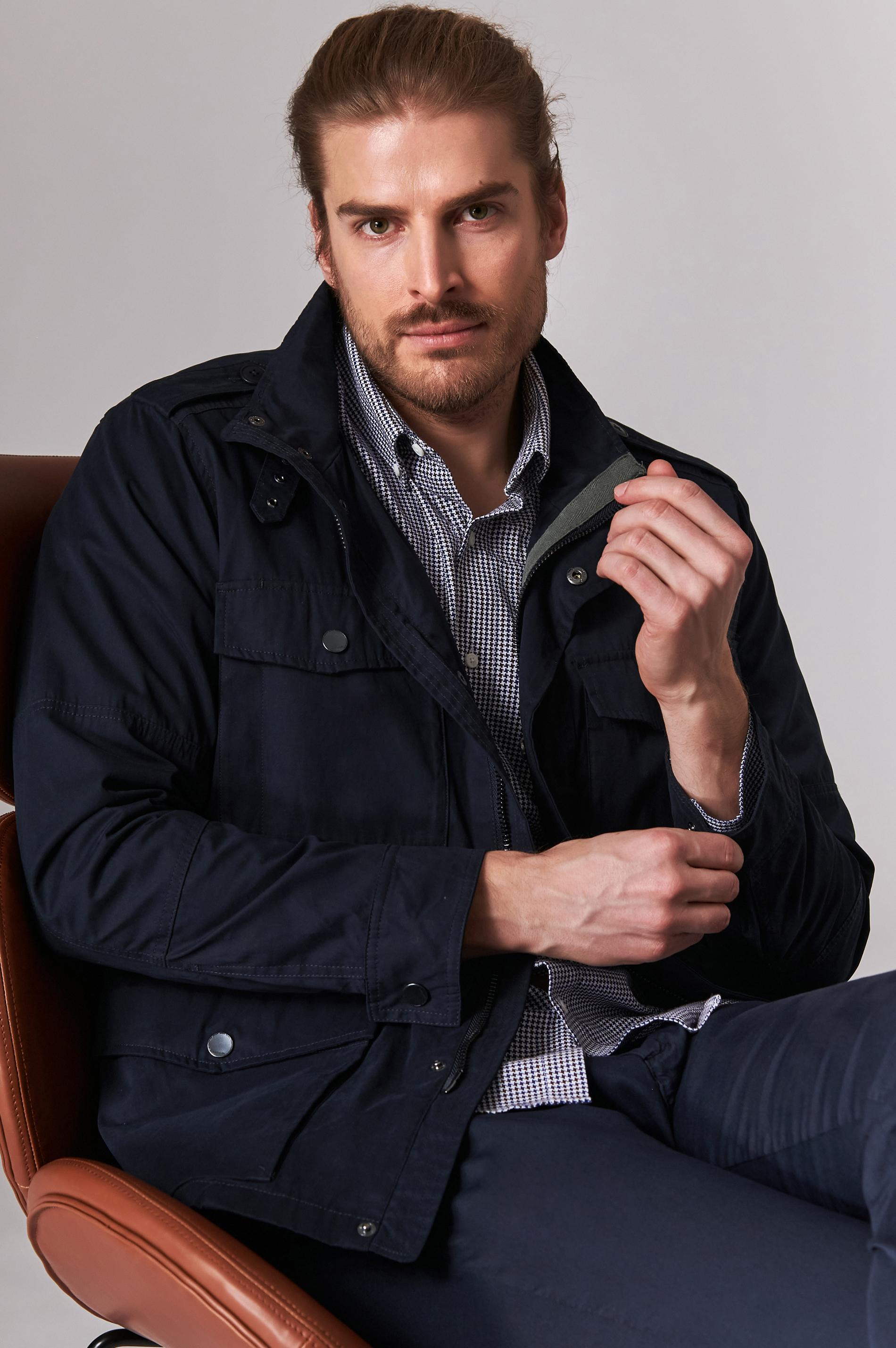 ELEGANT MEN'S BETWEEN-SEASON JACKET CAROL