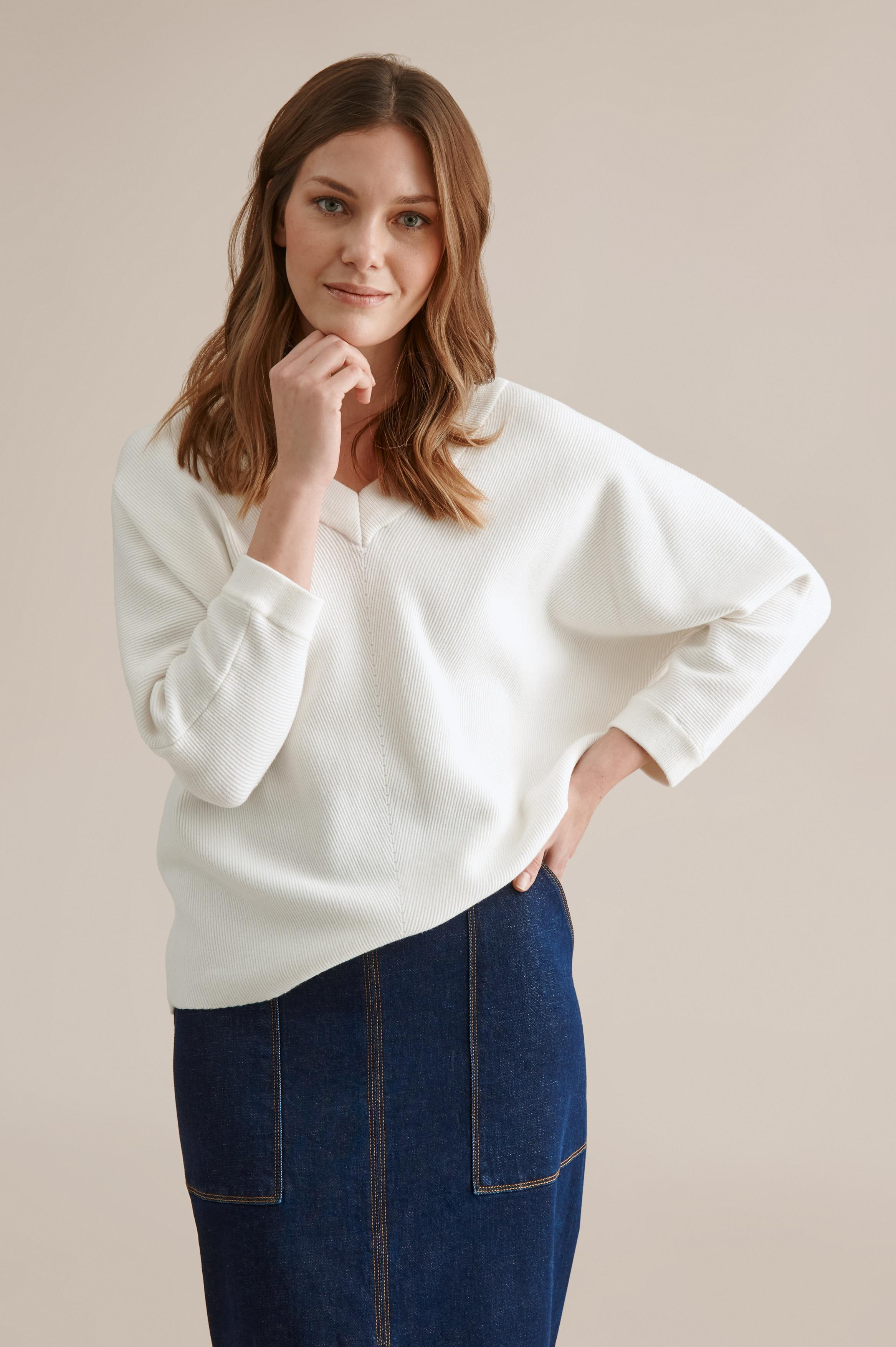 LOOSE LADIES' SWEATER BUENA
