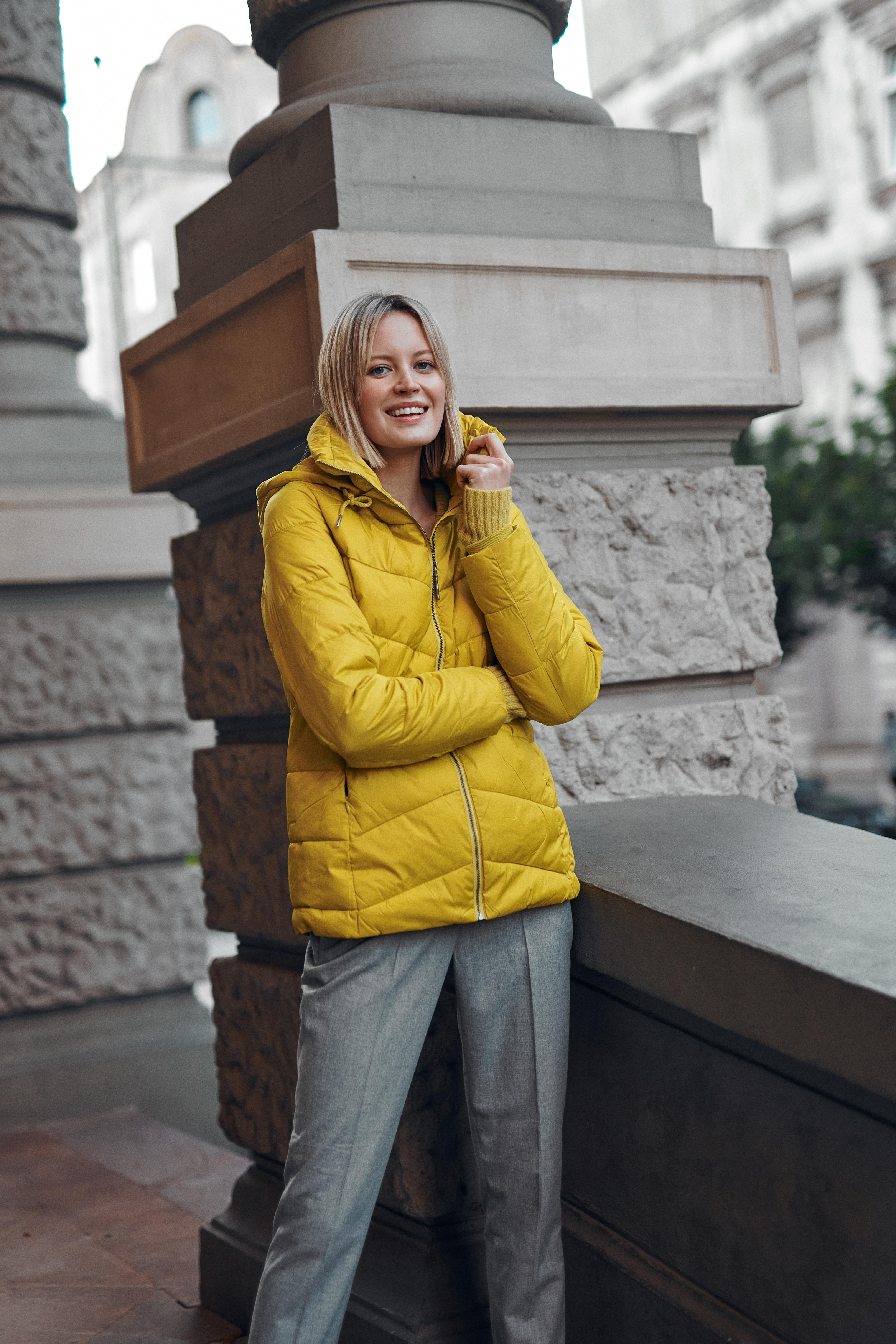 QUILTED HOODED LADIES' OUTERWEAR JACKET MARTA