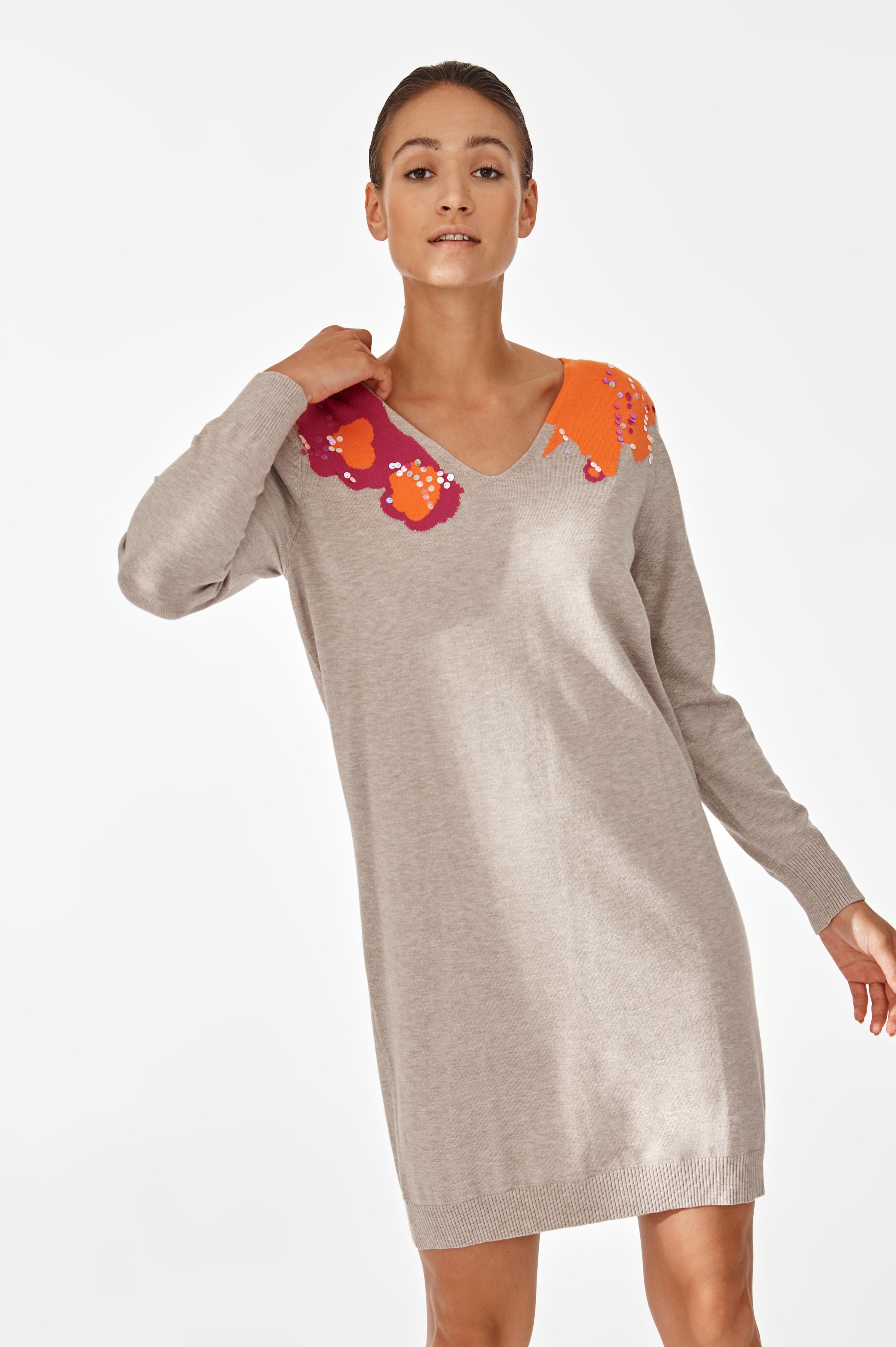 SWEATER-LIKE DRESS KLAUDI