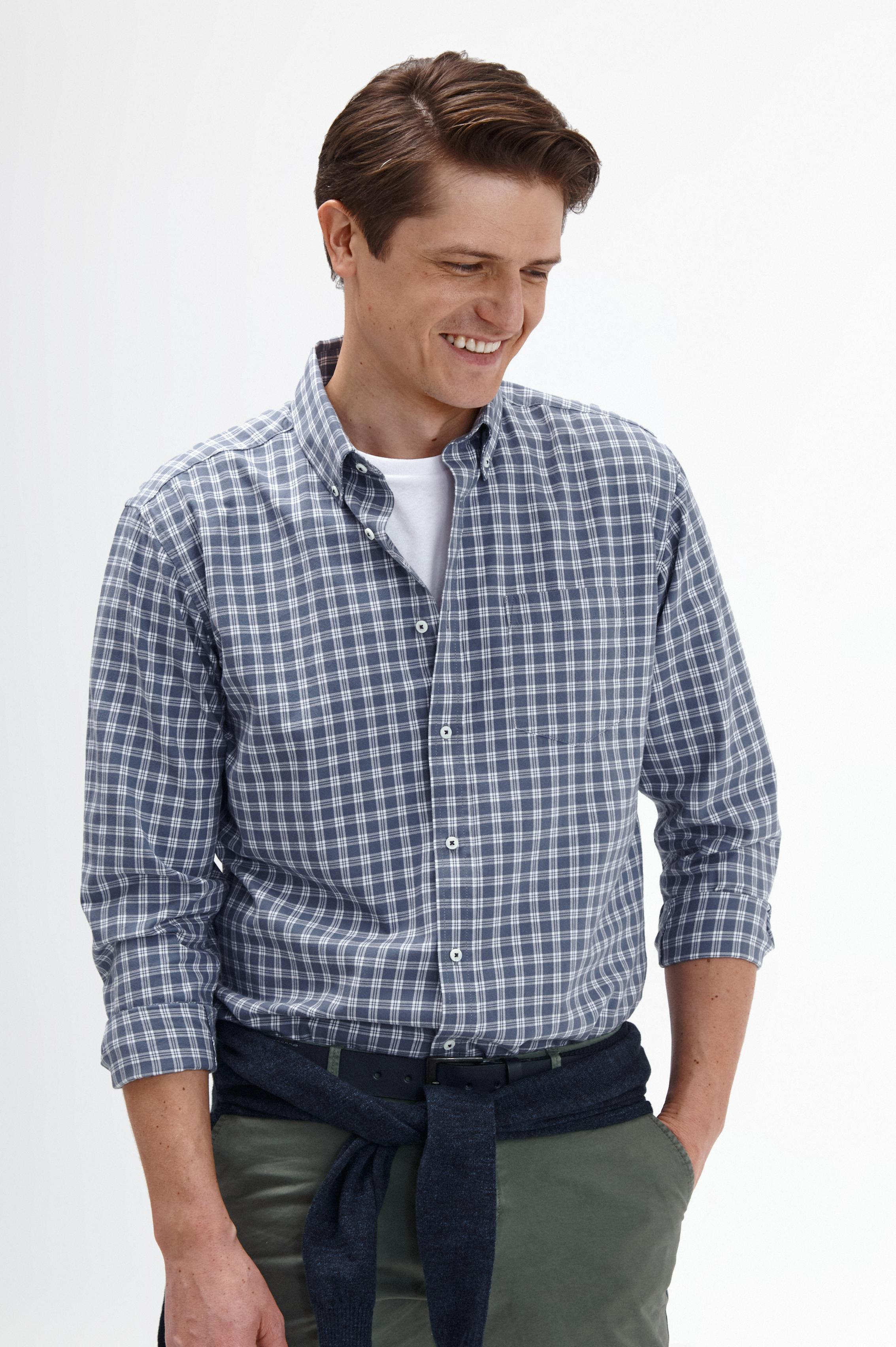 MEN'S CHECKERED SHIRT CHARLES 9 CLASSIC