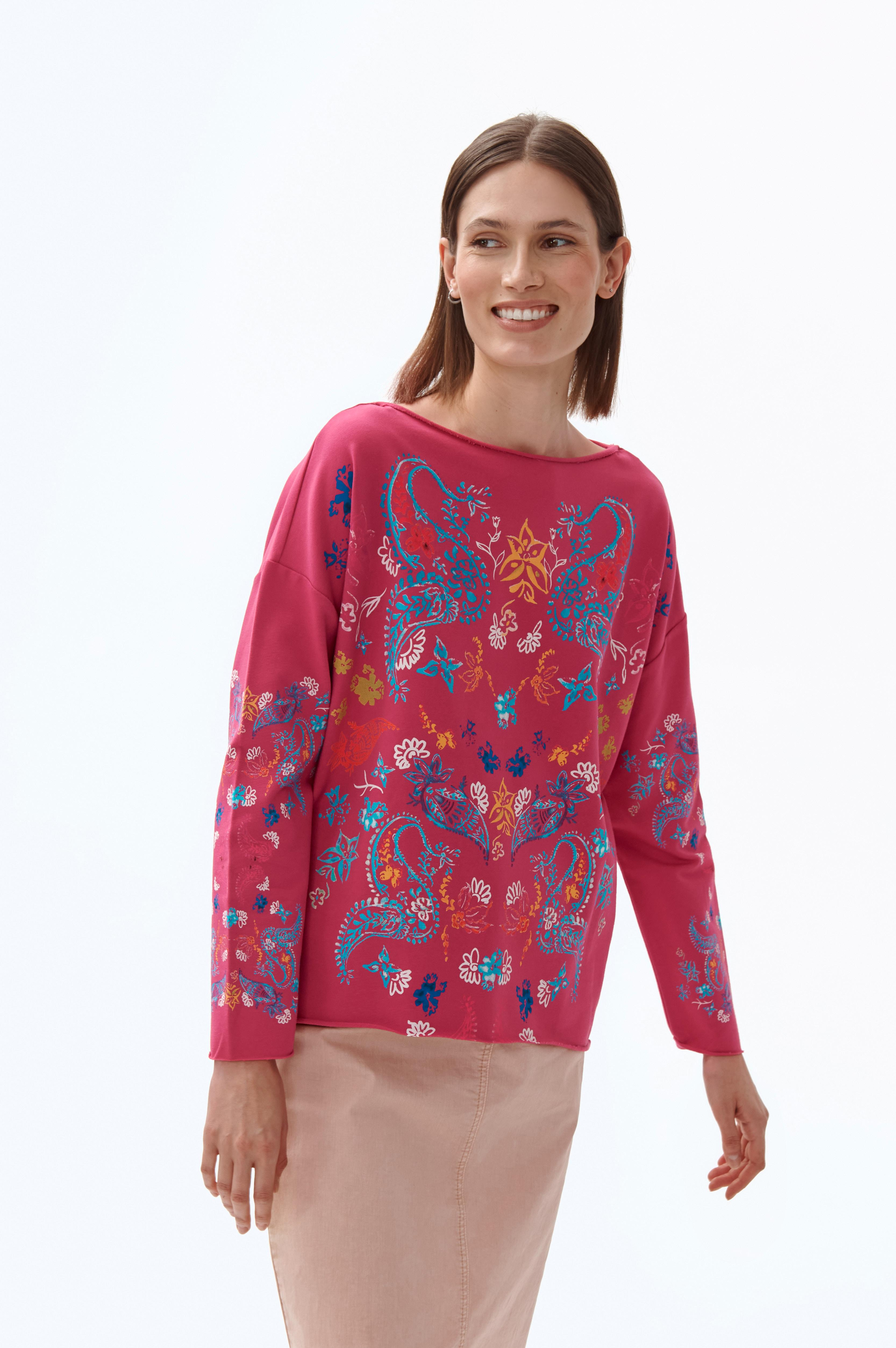LADIES' KNITTED SWEATSHIRT MALI 1