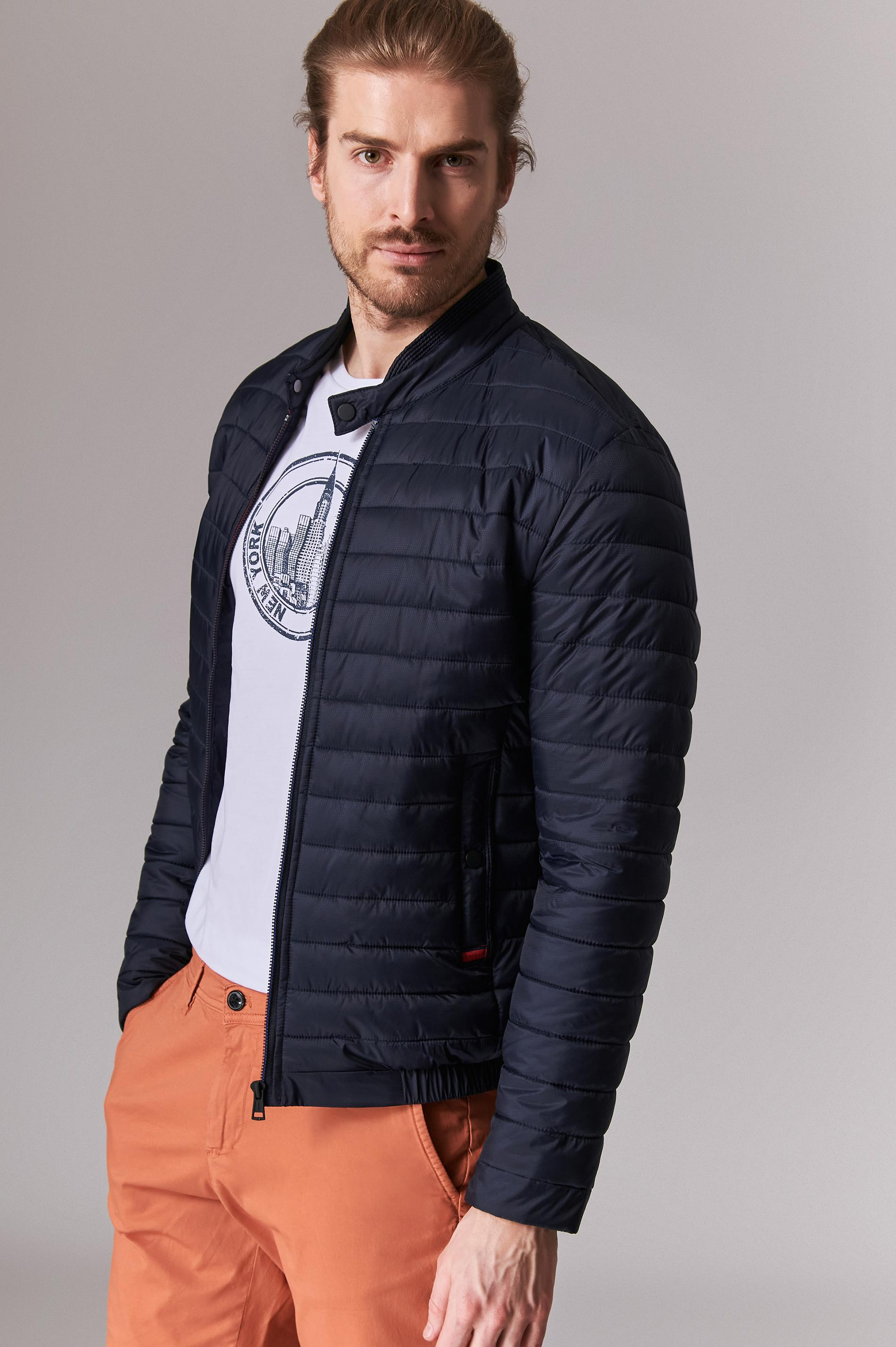 QUILTED BETWEEN-SEASON MEN'S JACKET JASON 1