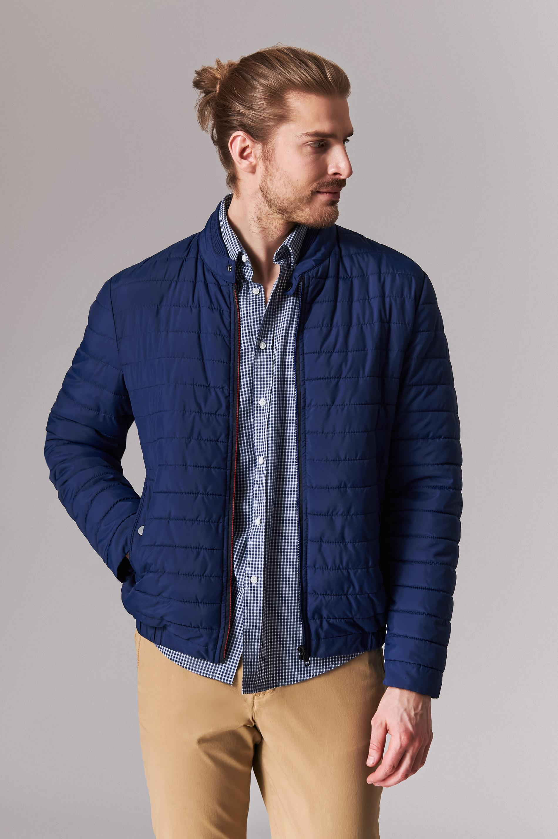 QUILTED BETWEEN-SEASON MEN'S JACKET JASON 2