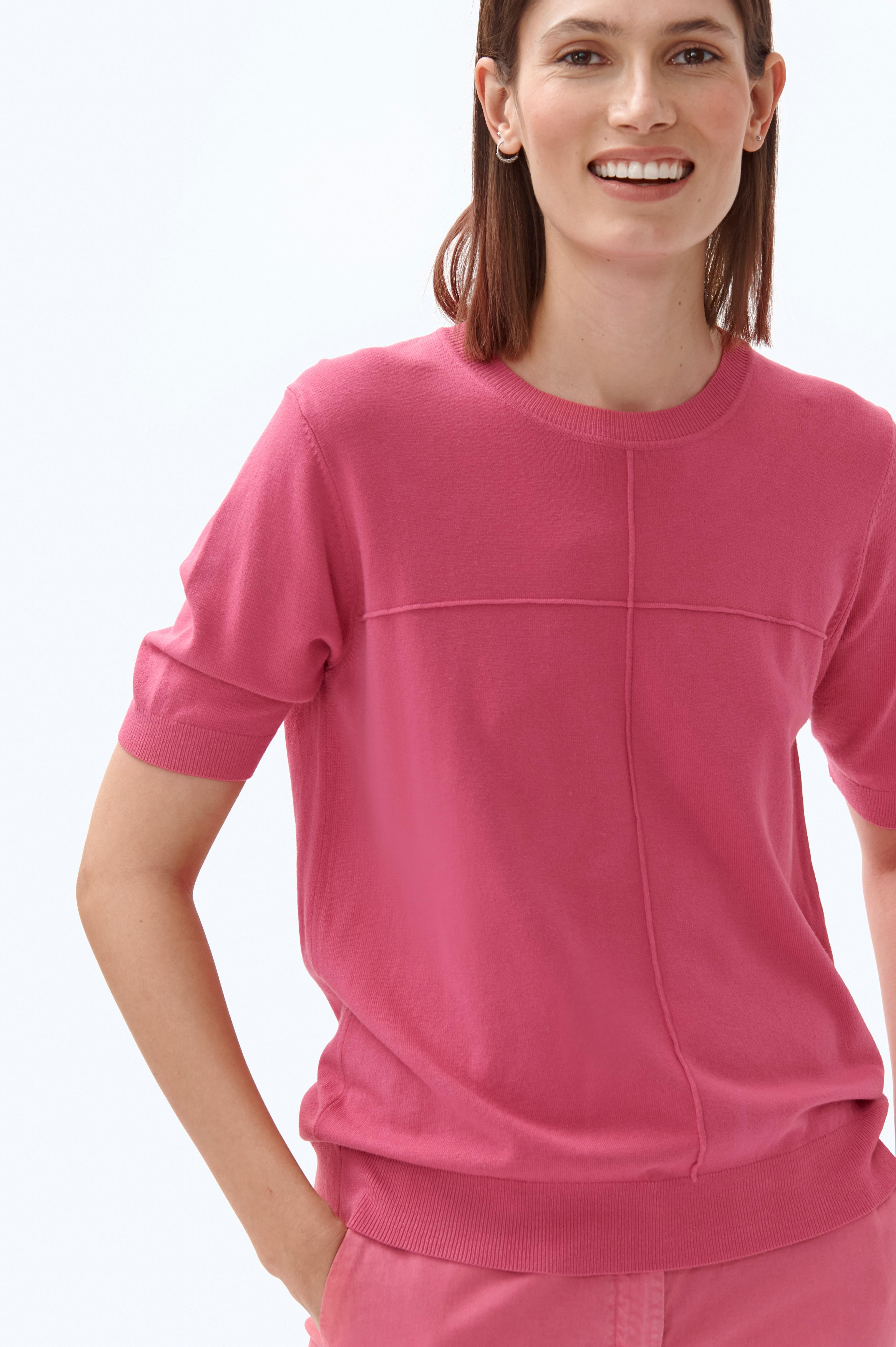 LADIES' SHORT-SLEEVED SWEATER NERI