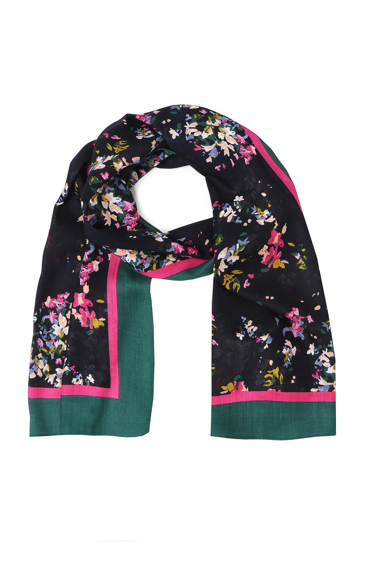 SCARF WITH FLORAL PATTERN MAREMI