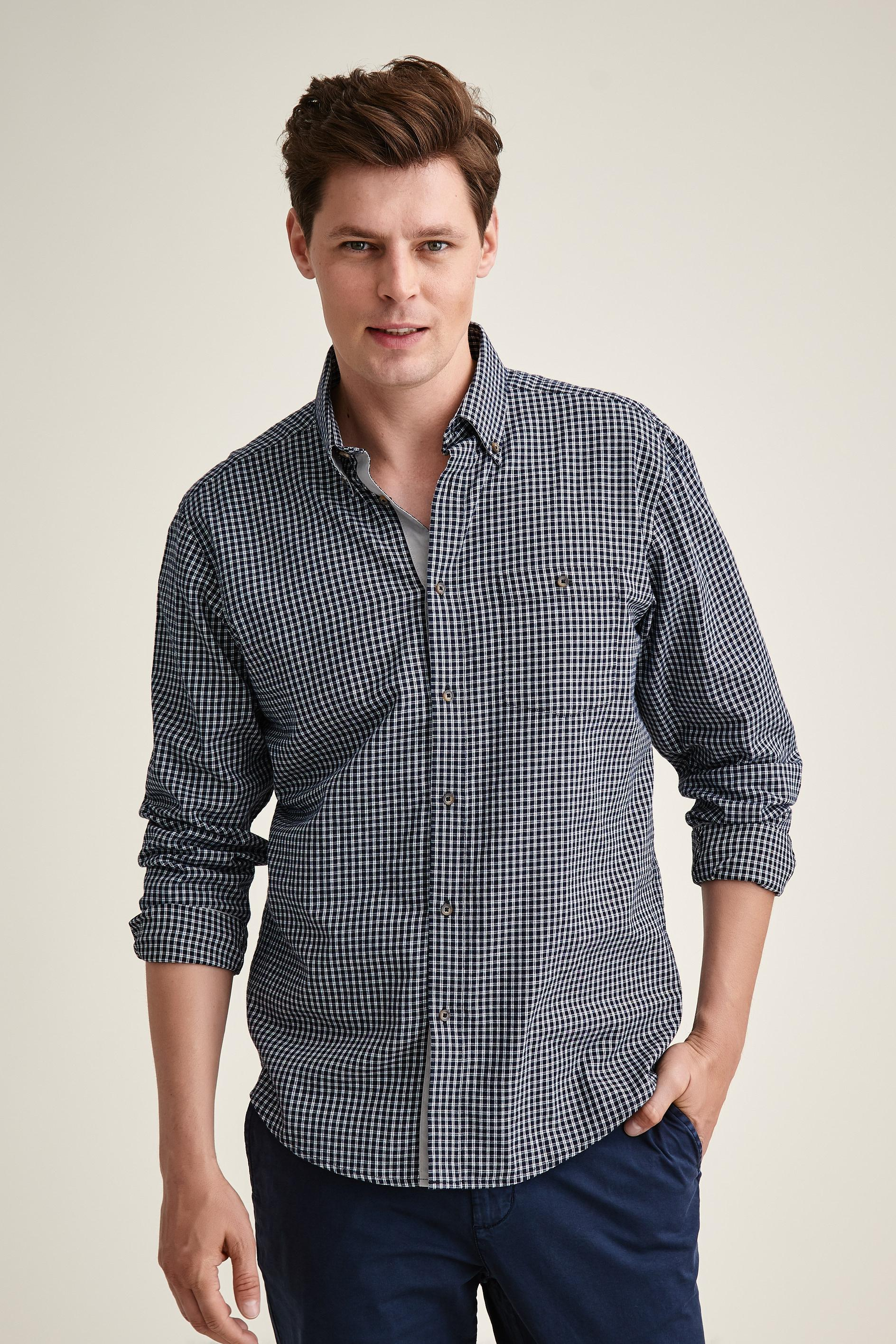 CHECKERED SHIRT WITH LONG SLEEVE CHARLES 5 CLASSIC