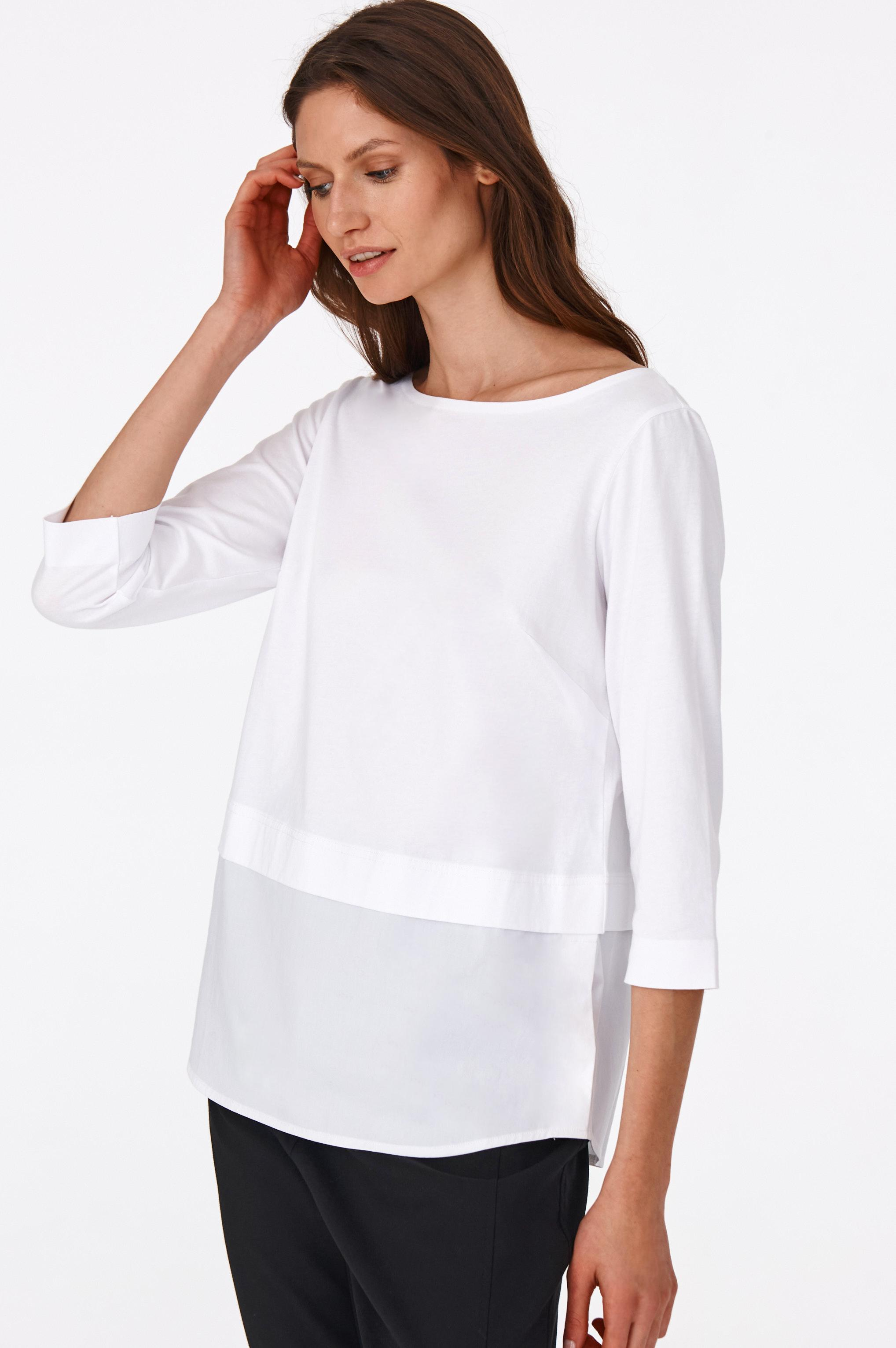 LADIES' KNITTED BLOUSE WAROMI