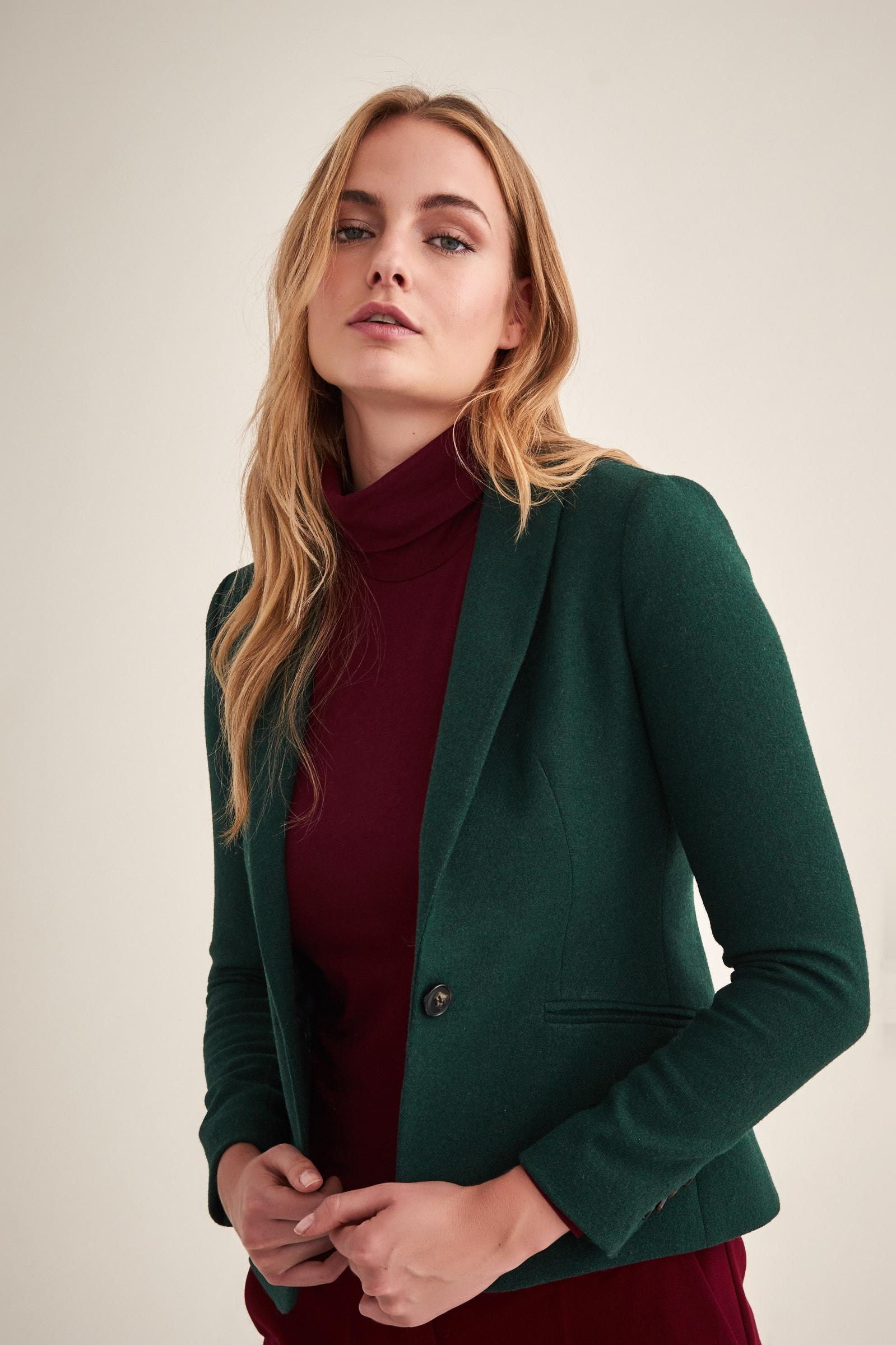 CLASSIC JACKET WITH WOOL EWIA