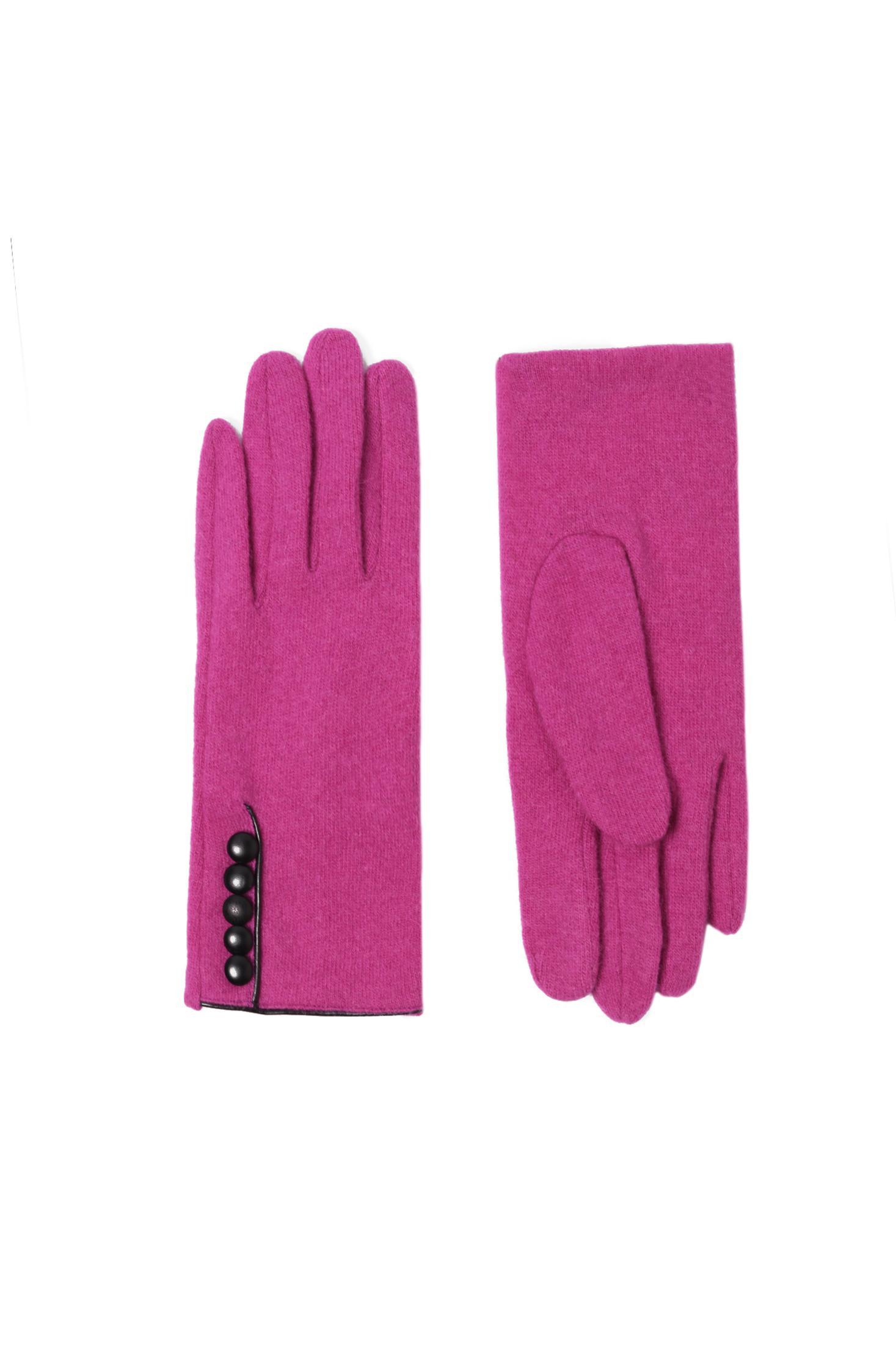 rękawiczki damskie dzianinowe HANSKI
