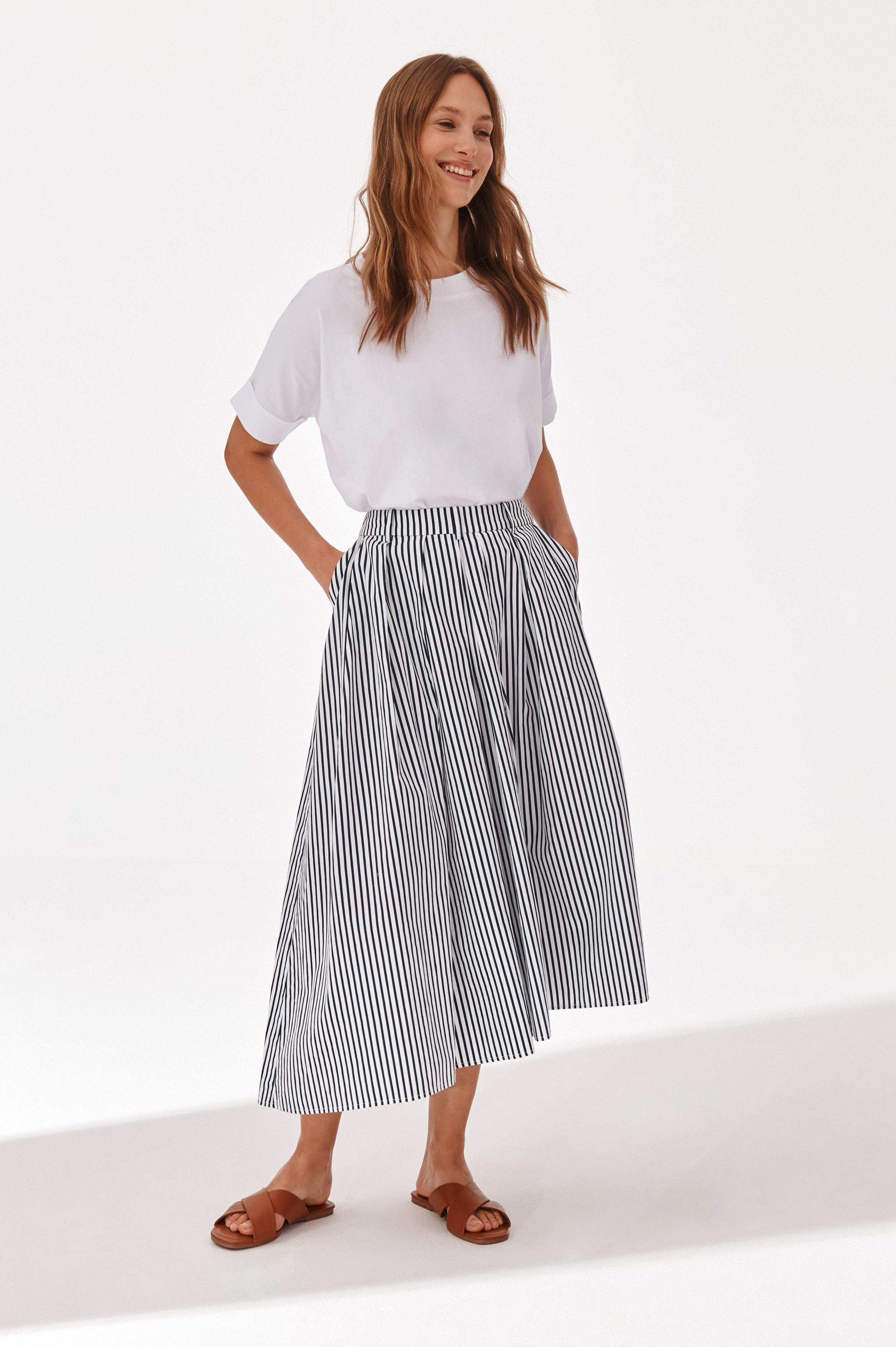 ASYMMETRICAL MIDI SKIRT BRUNI 1