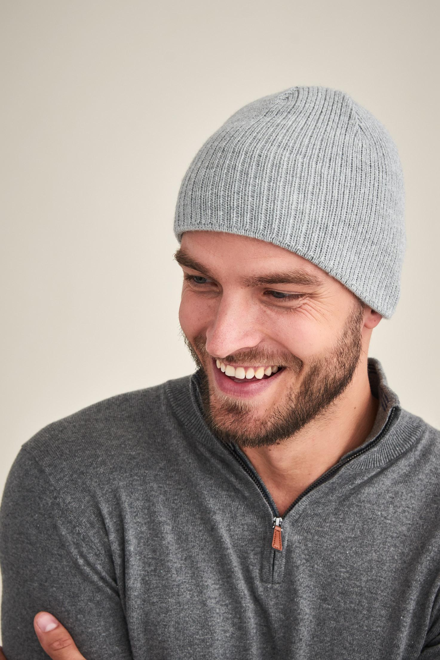 MEN'S KNITWEAR CAP MATT800