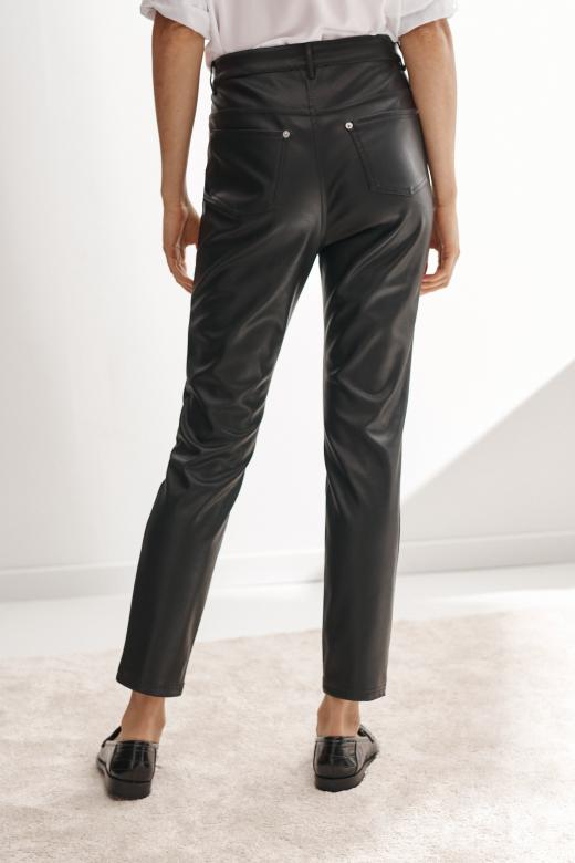 LADIES' ECO LEATHER PANTS LEDERI