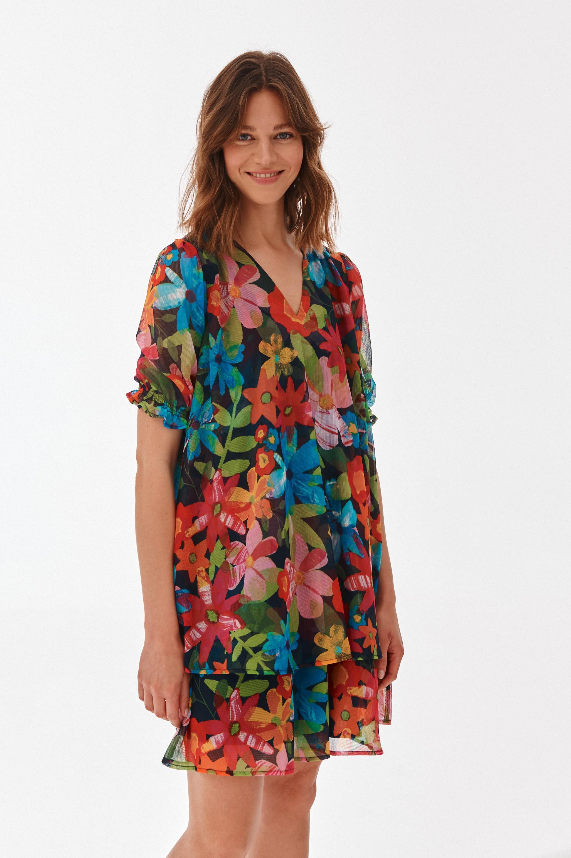 SHORT FLOWY DRESS ZUZA