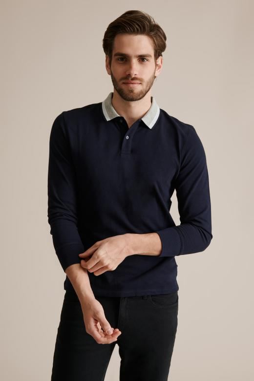 MEN'S KNITTED POLO SHIRT MALL 1
