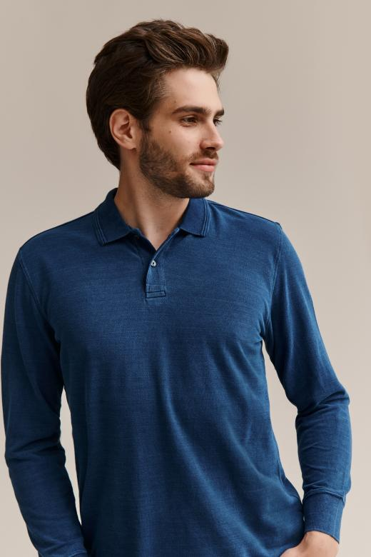 MEN'S KNITTED POLO SHIRT MALL 2