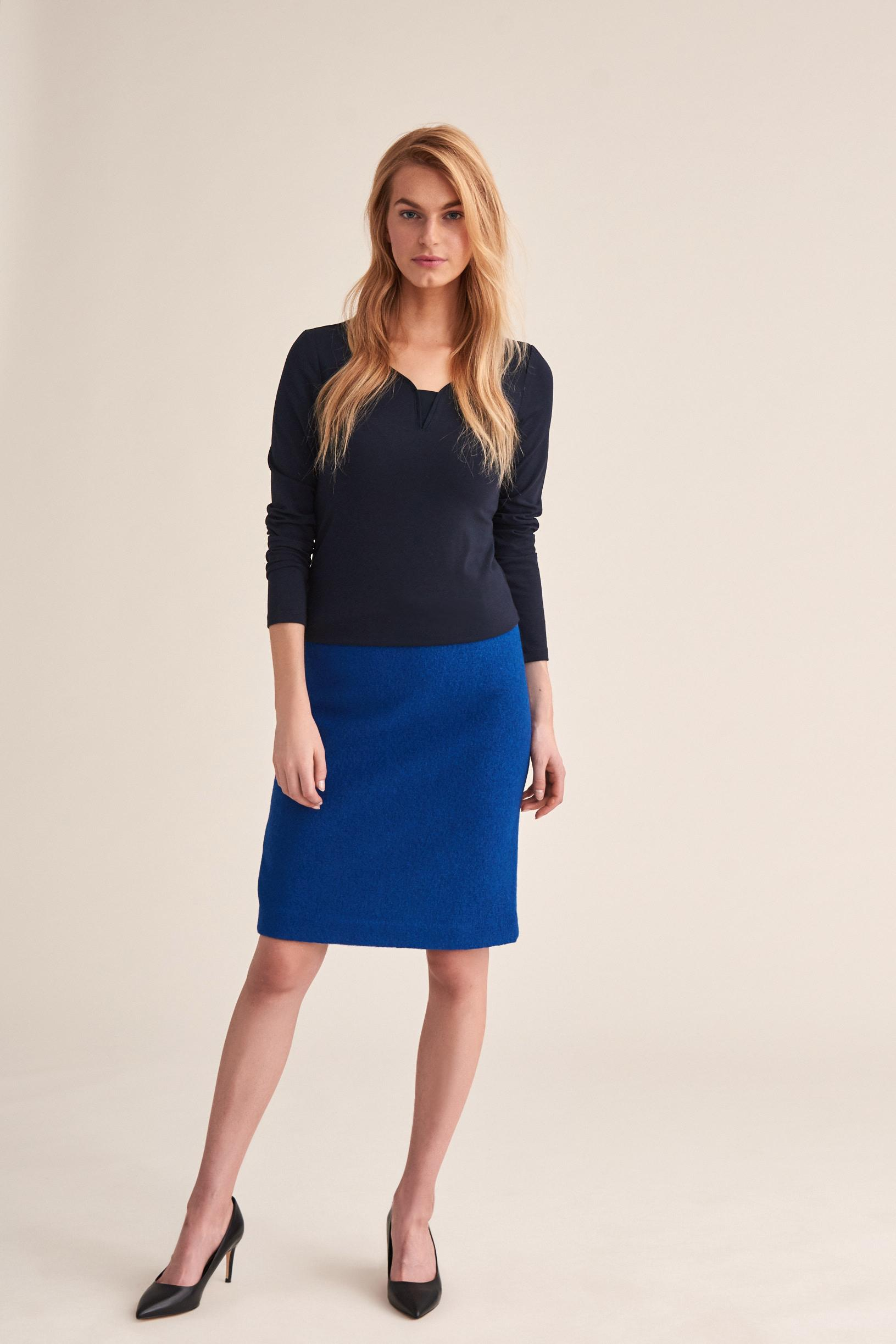 KNITTED PENCIL SKIRT BETANI