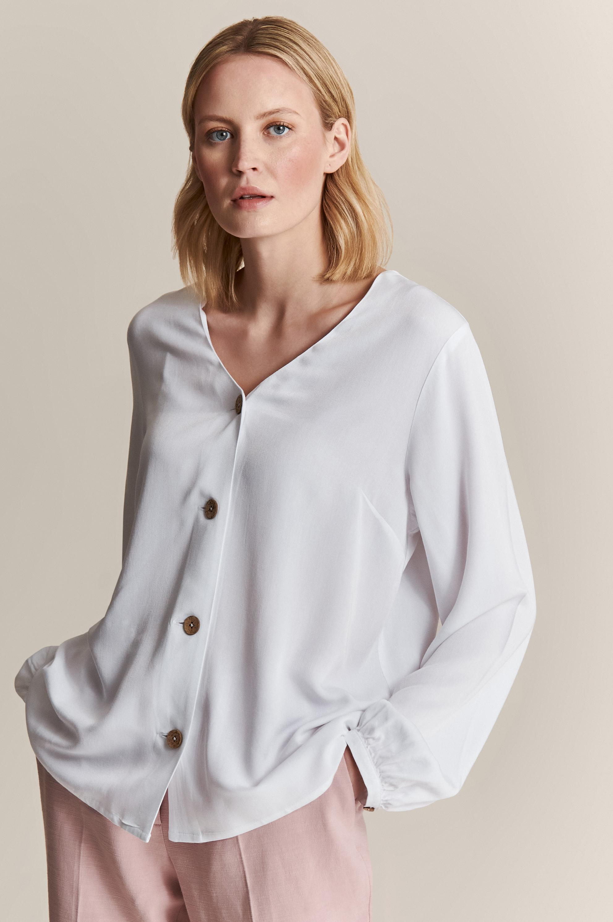 BLOUSE FASTENED WITH BUTTONS JOLINI