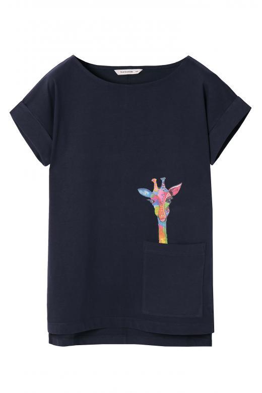 T-shirt damski MIZAKI