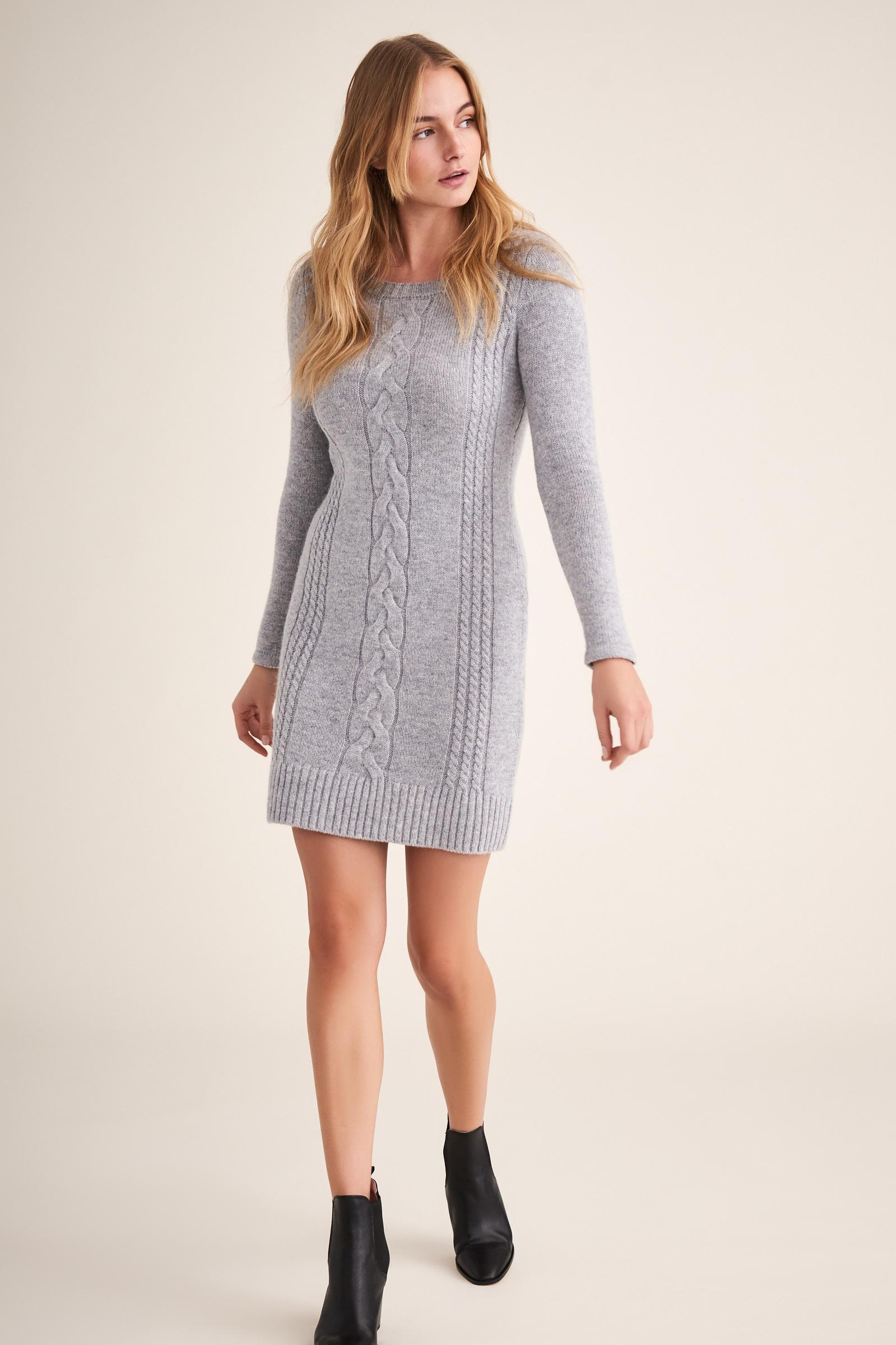 LADIES' KNITTED DRESS PETIKA