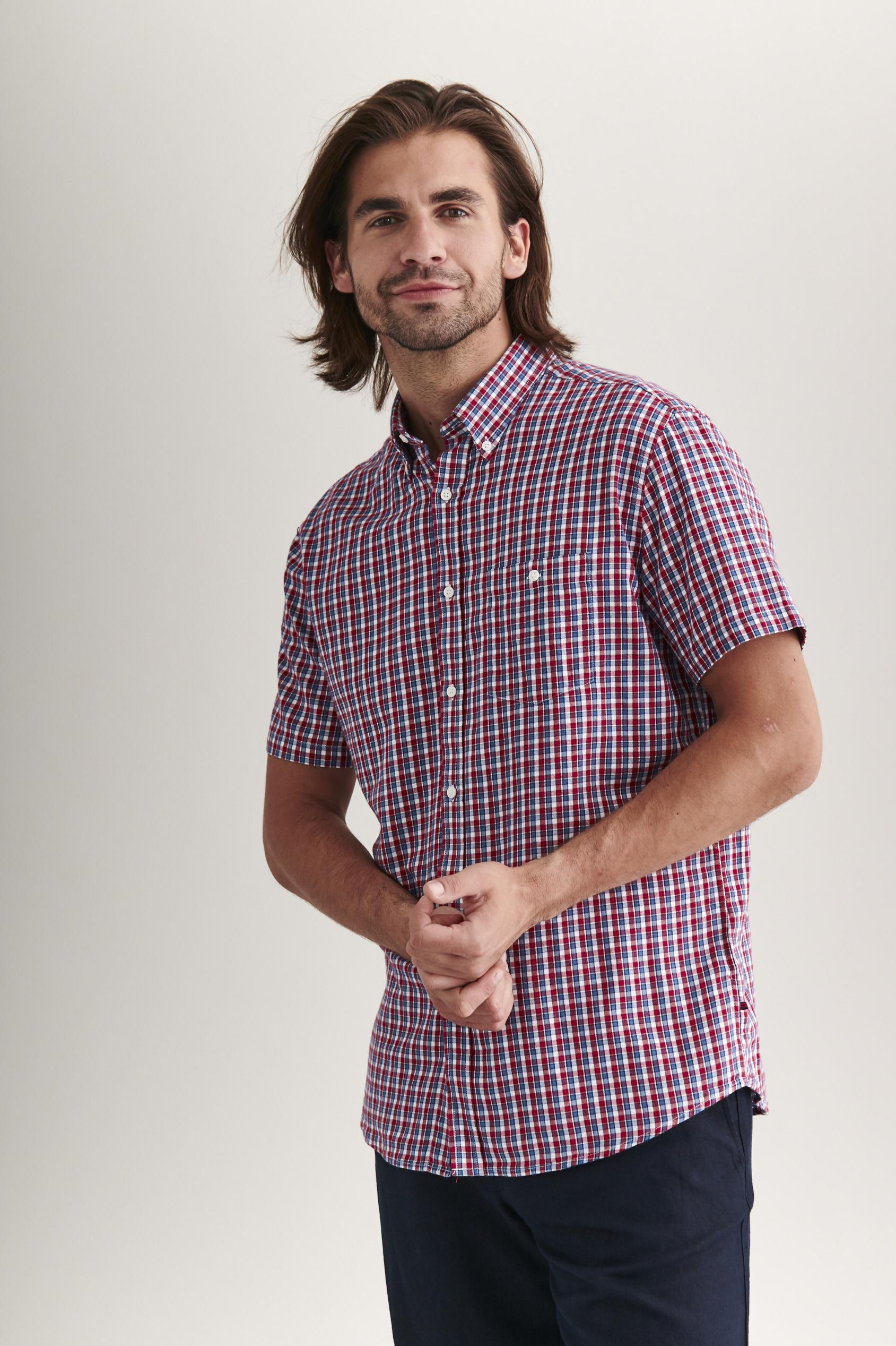 MEN'S SHIRT WITH SHORT SLEEVES DORT 1 CLASSIC