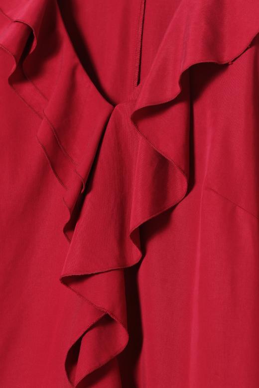 DRESS WITH A RUFFLE ZUZOLO 1