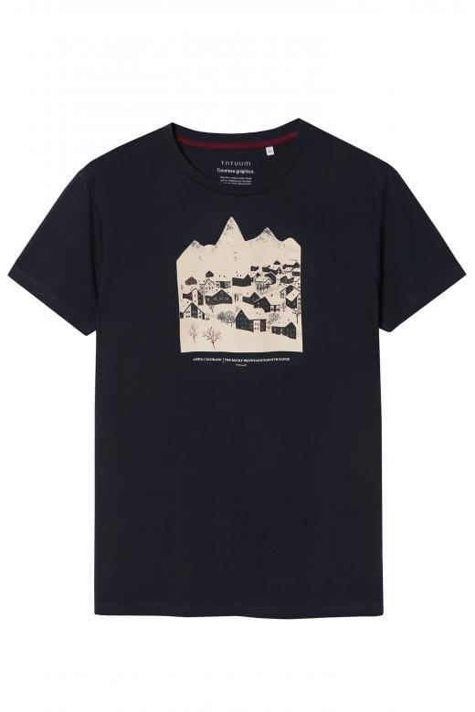 MEN'S T-SHIRT WITH A PRINT MIKIN 26