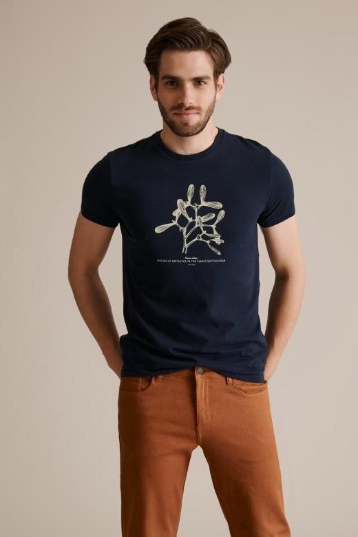 MEN'S T-SHIRT WITH A PRINT MIKIN 27