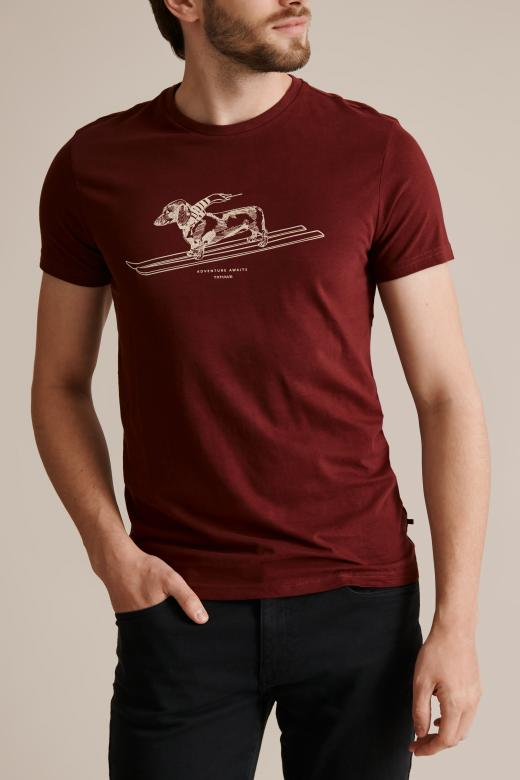 MEN'S T-SHIRT WITH A PRINT MIKIN 28
