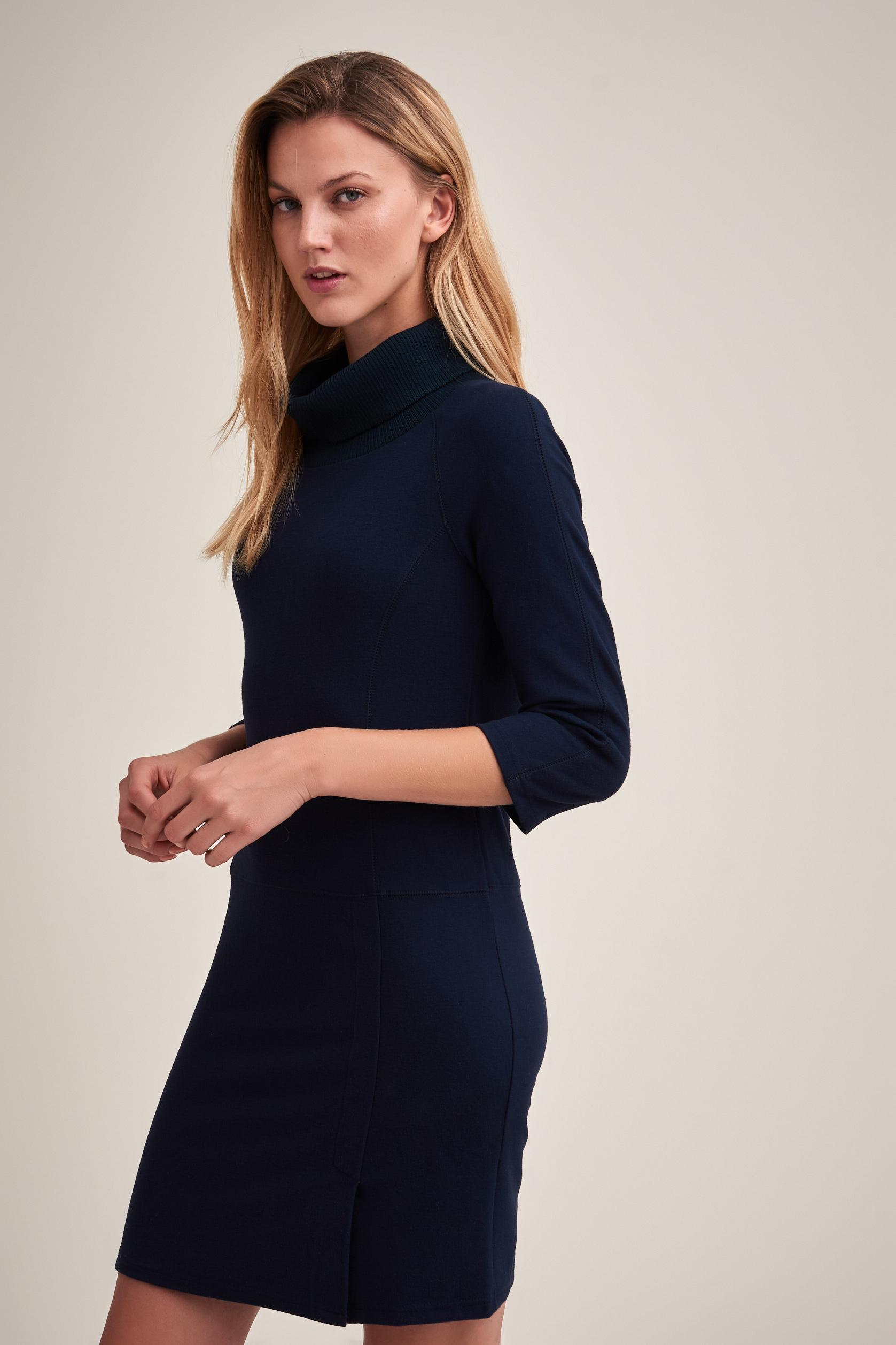 TURTLE NECK KNITTED DRESS SERFILA