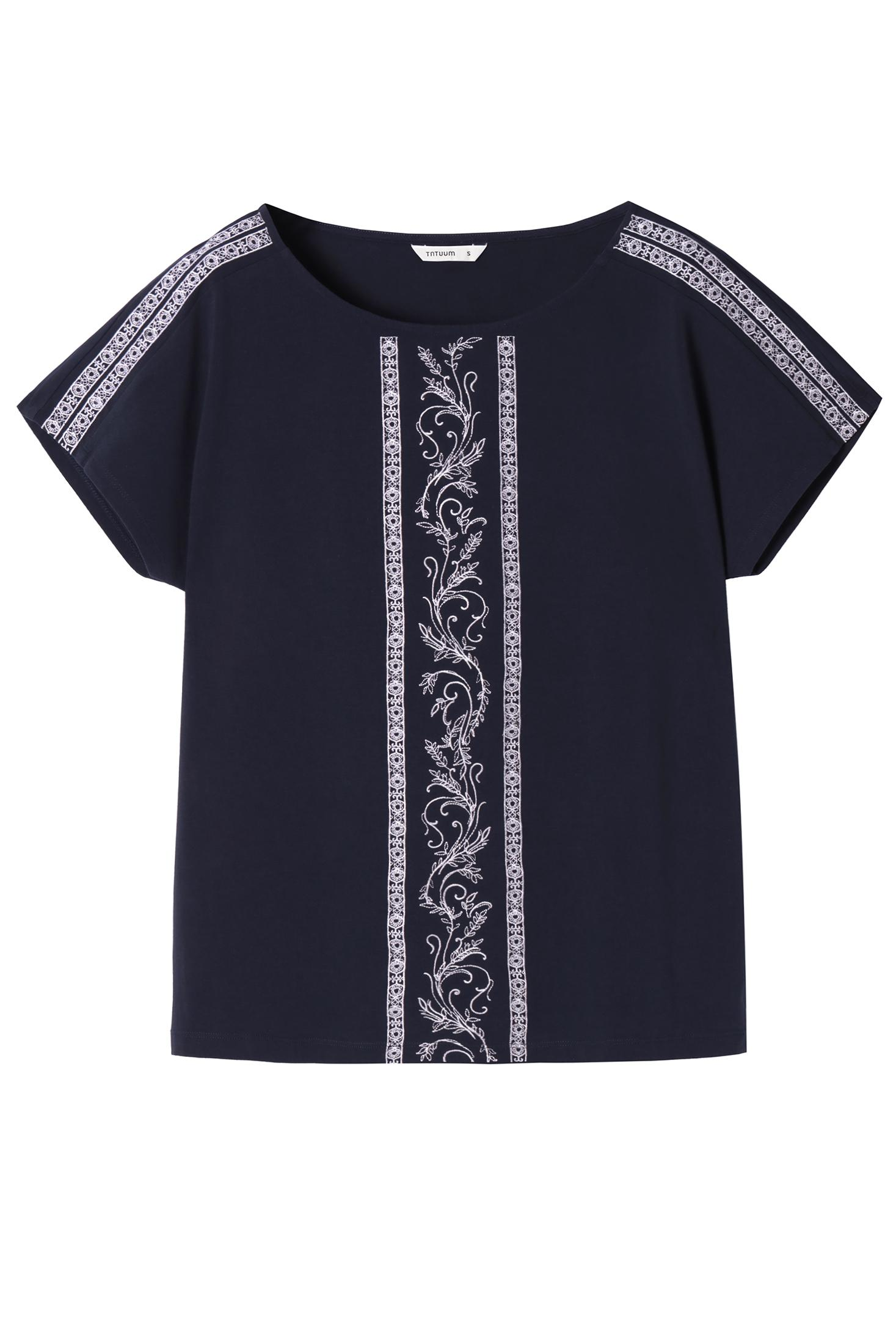 LADIES' EMBROIDERED BLOUSE EMAKIA